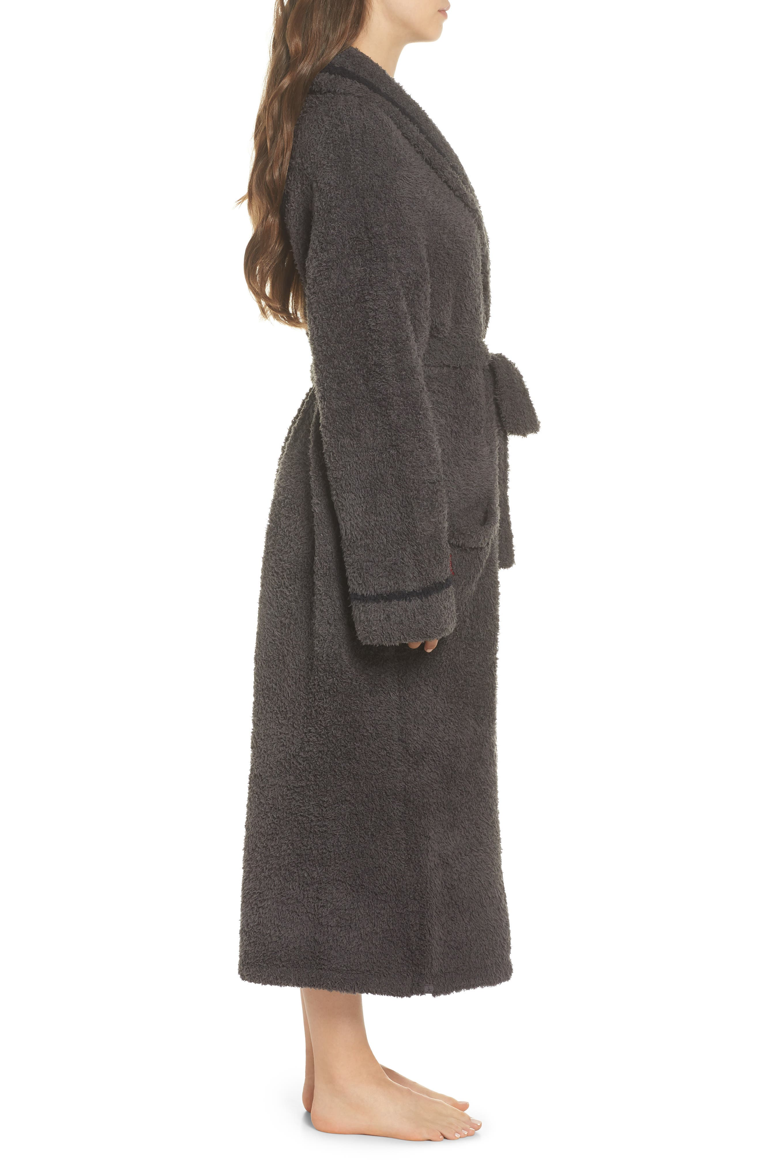 x Disney Classic Series CozyChic<sup>®</sup> Robe,                             Alternate thumbnail 3, color,                             CARBON/ BLACK
