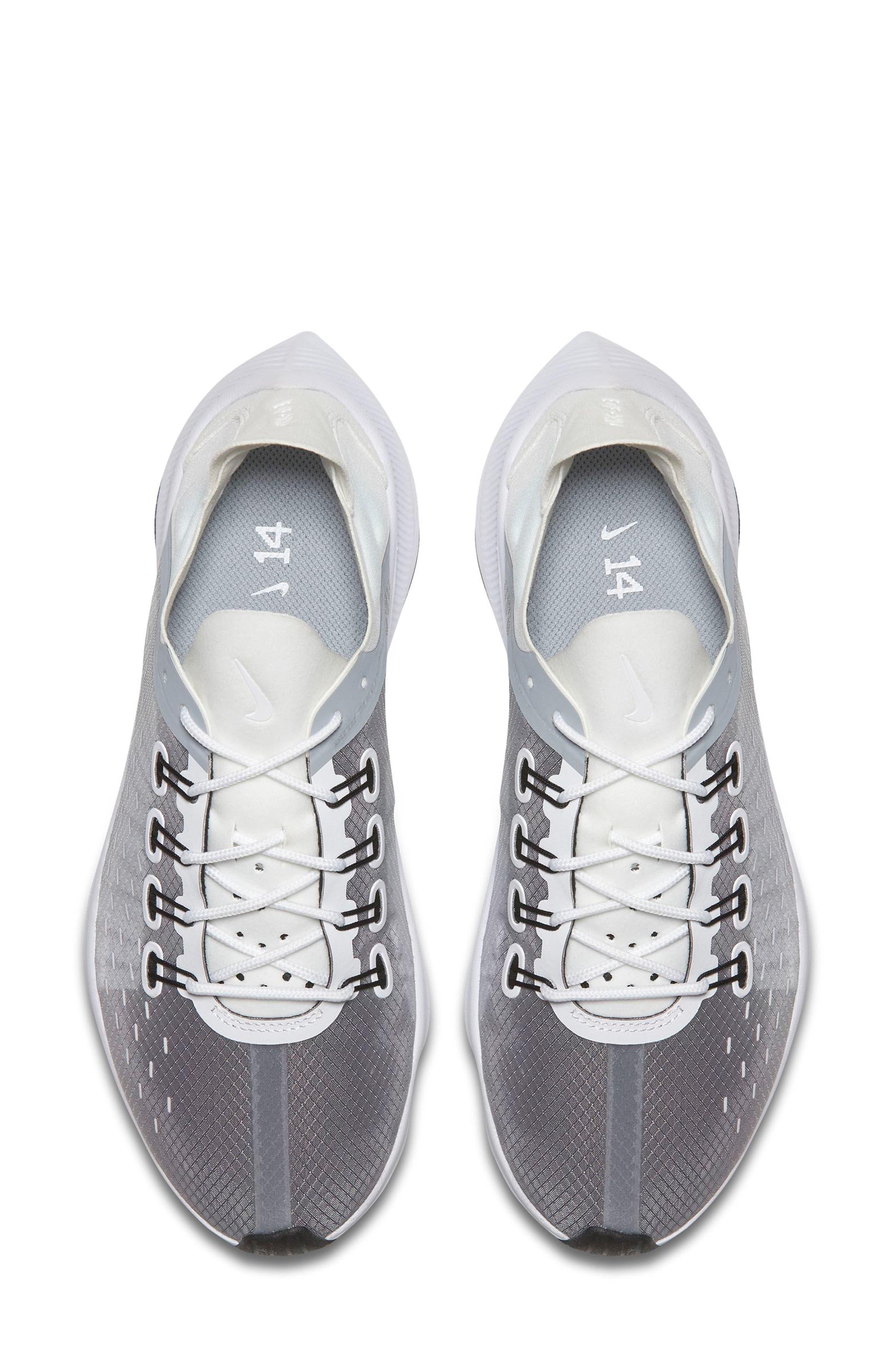 EXP-X14 Sneaker,                             Alternate thumbnail 4, color,                             WHITE/ WOLF GREY/ BLACK