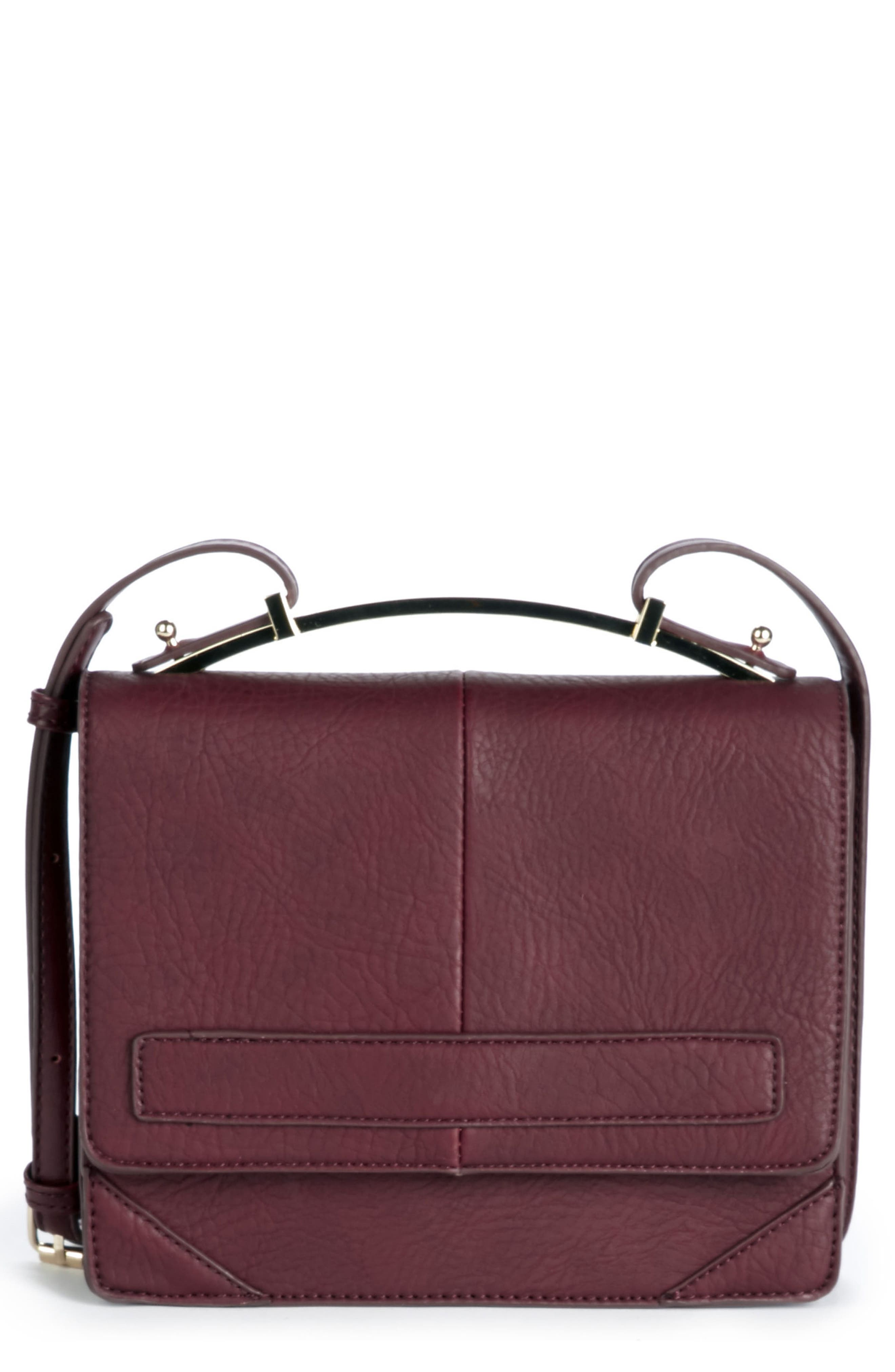 Krista Faux Leather Crossbody Bag,                             Main thumbnail 2, color,