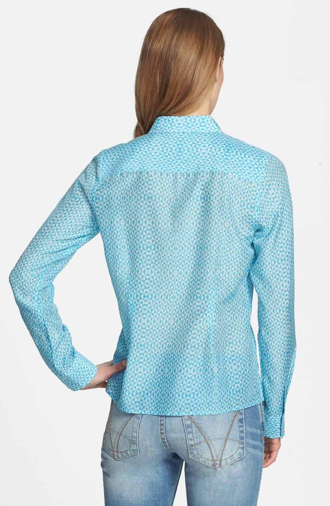 Cotton & Silk Shirt,                             Alternate thumbnail 116, color,