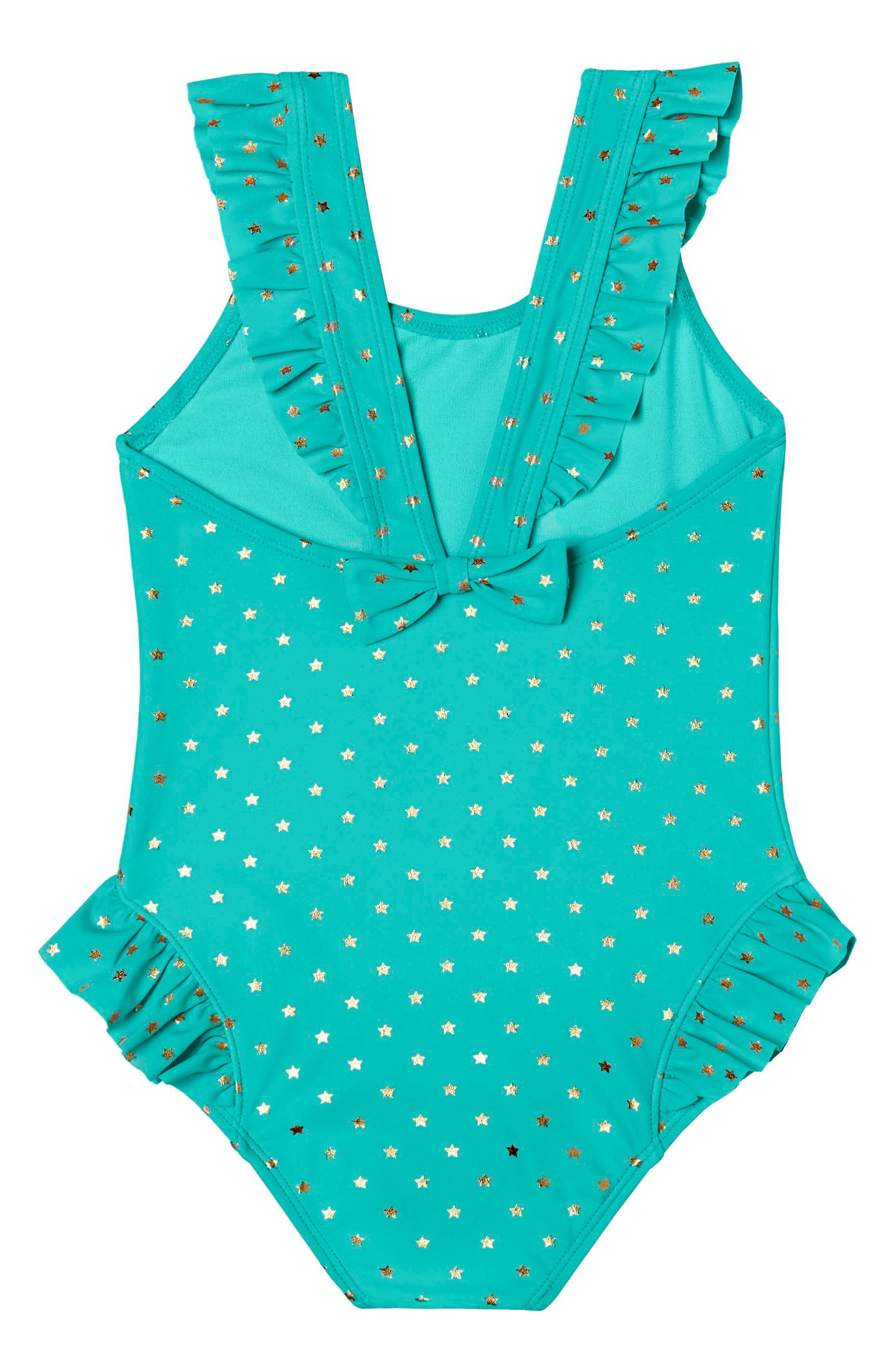 Twinkle Star One-Piece Swimsuit,                         Main,                         color, 303