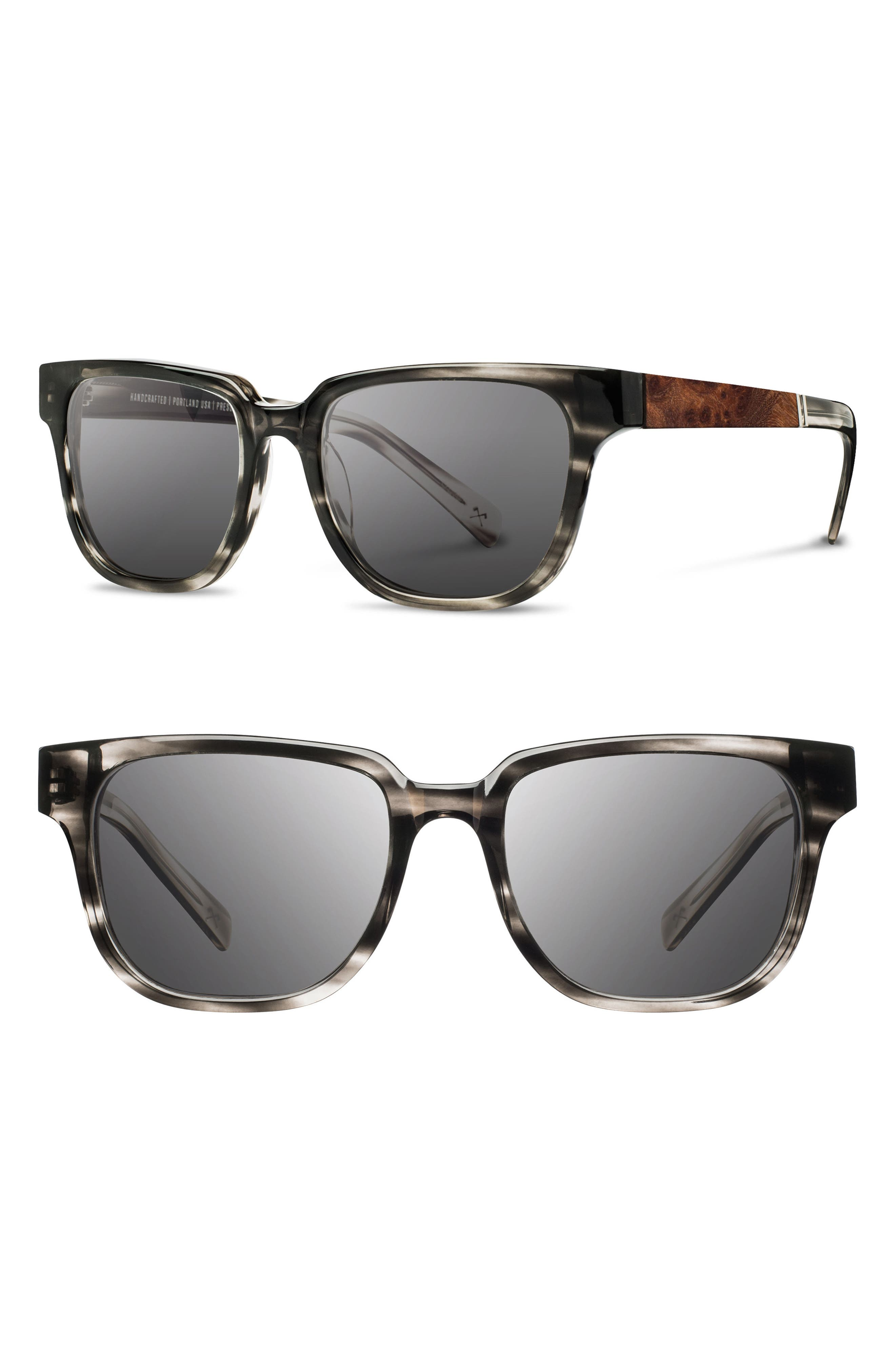 'Prescott' 52mm Polarized Sunglasses,                             Alternate thumbnail 7, color,