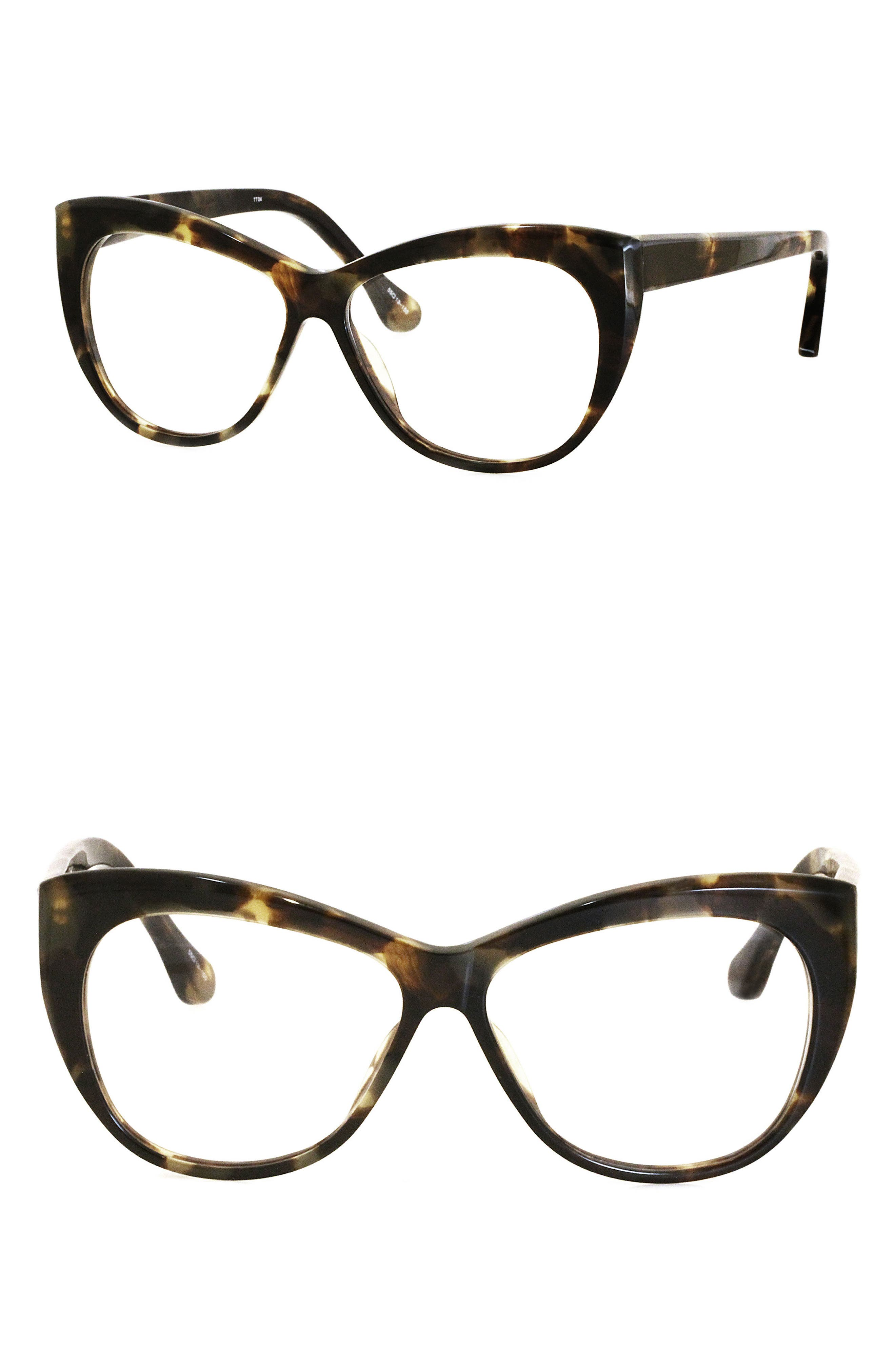 Clarence 55mm Cat Eye Reading Glasses,                             Main thumbnail 1, color,                             202