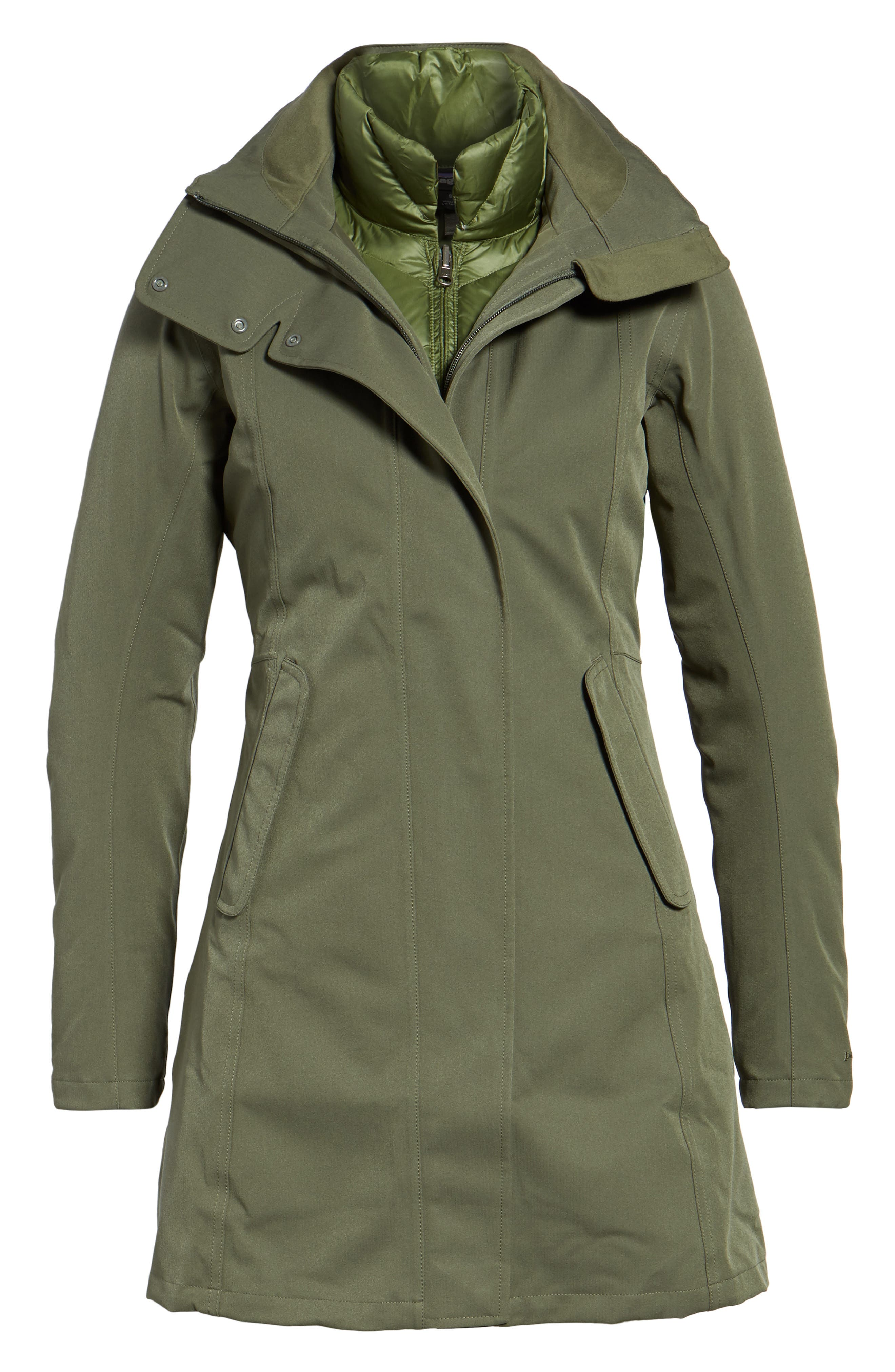 Tres Waterproof 3-in-1 Parka,                             Alternate thumbnail 5, color,                             301