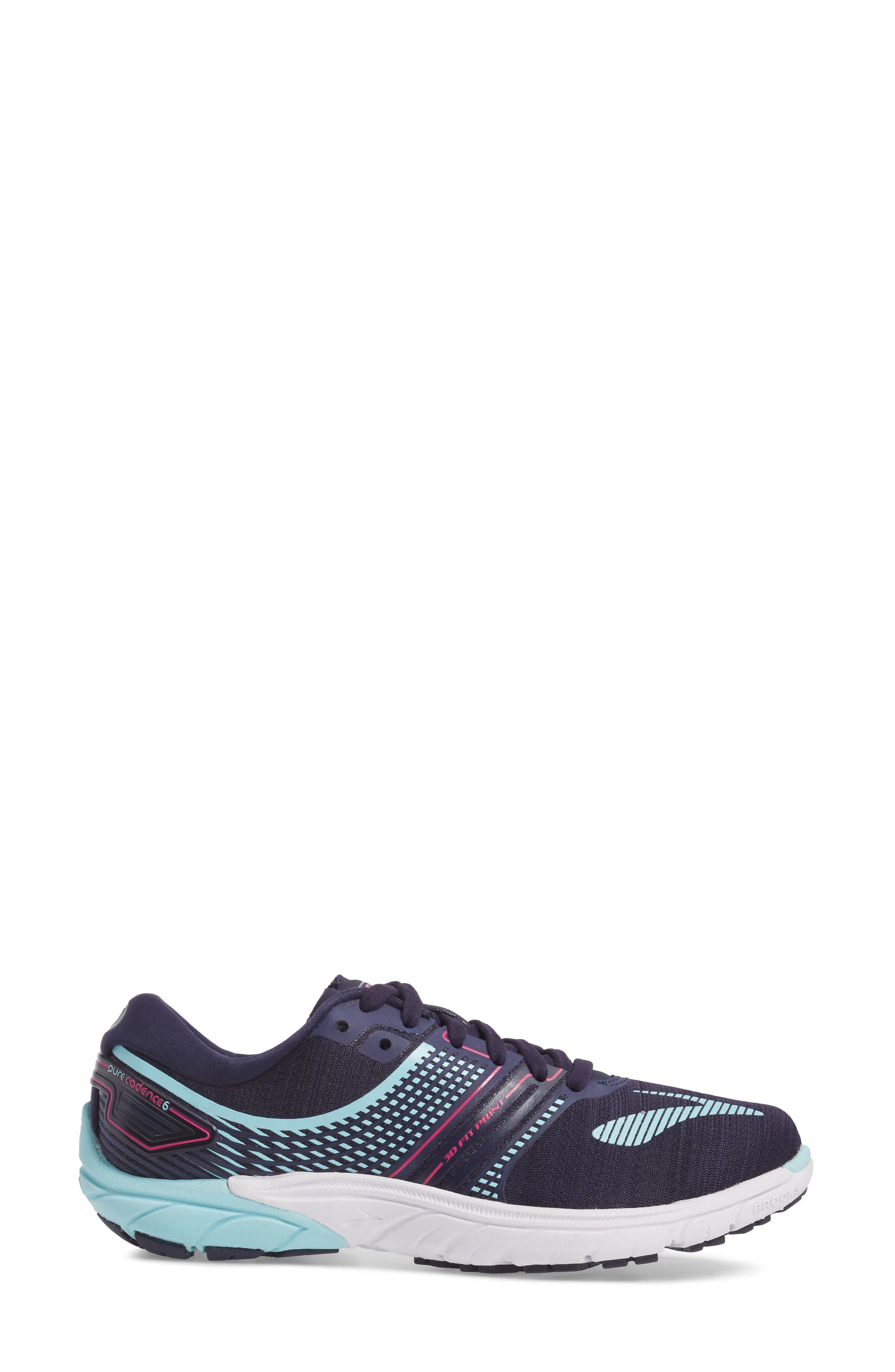 PureCadence 6 Running Shoe,                             Alternate thumbnail 3, color,                             435
