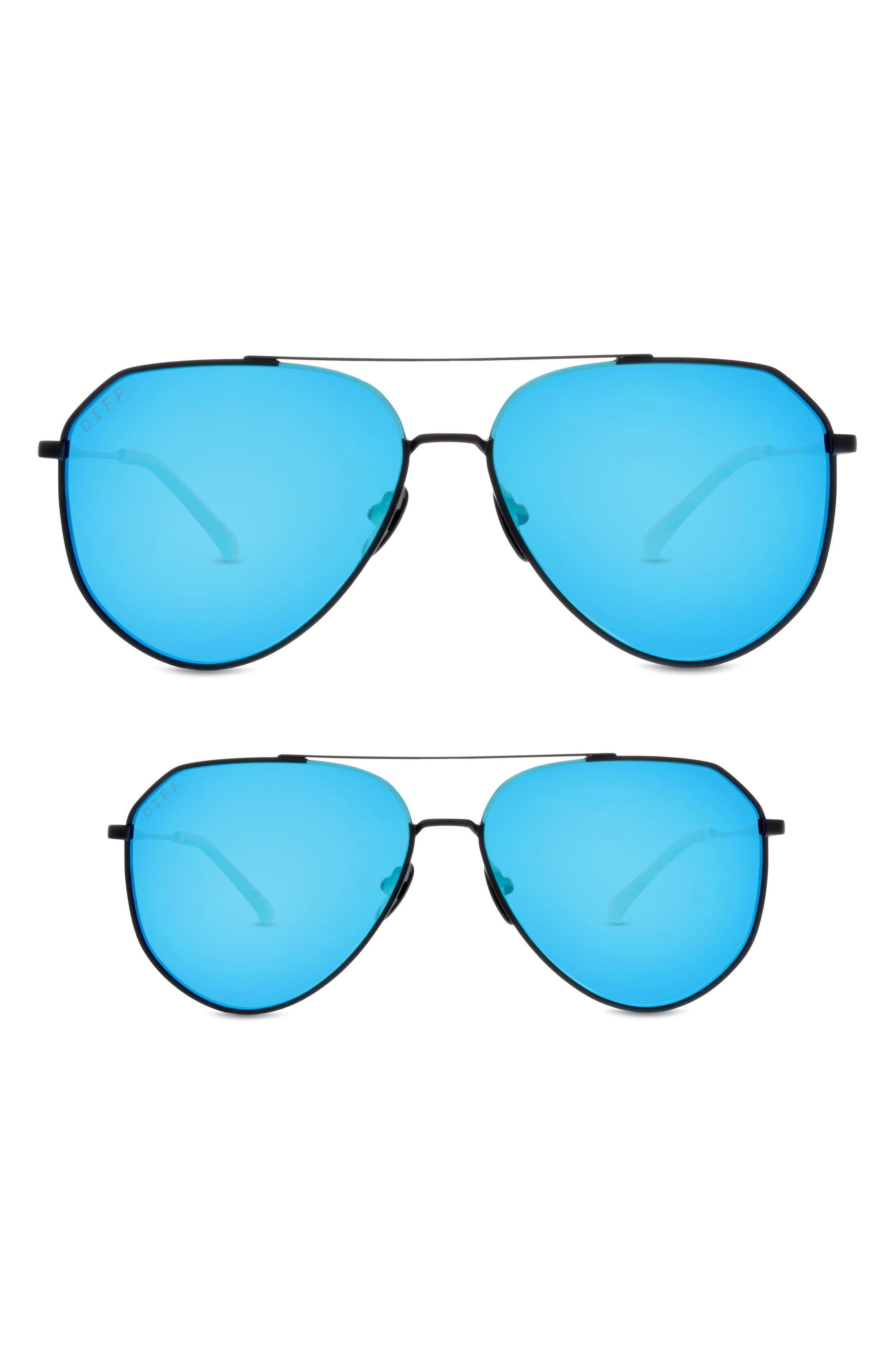 Mommy & Me Dash 2-Pack Aviator Sunglasses,                             Alternate thumbnail 2, color,                             003