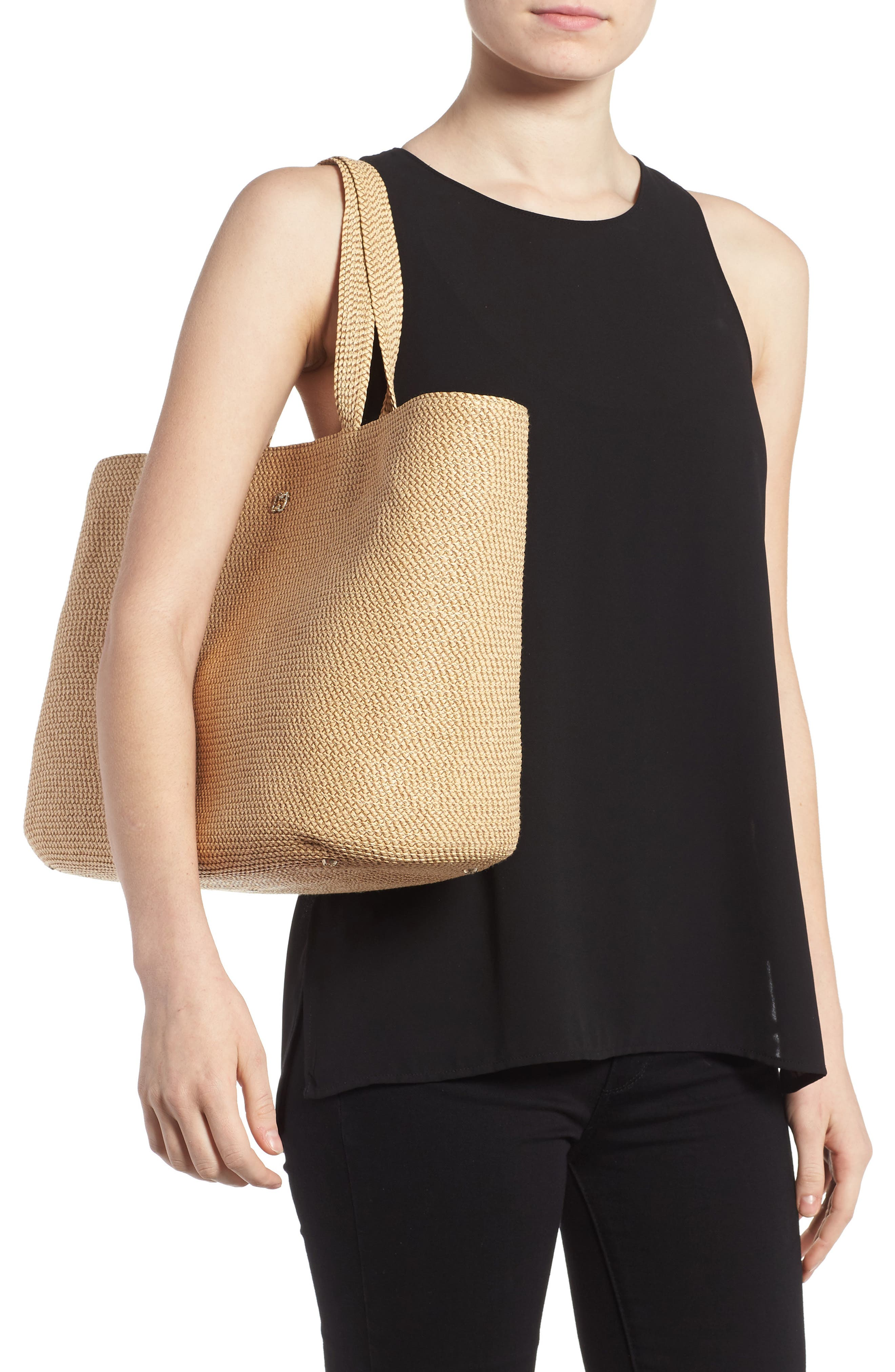 'Sinclair' Squishee<sup>®</sup> Tote,                             Alternate thumbnail 5, color,