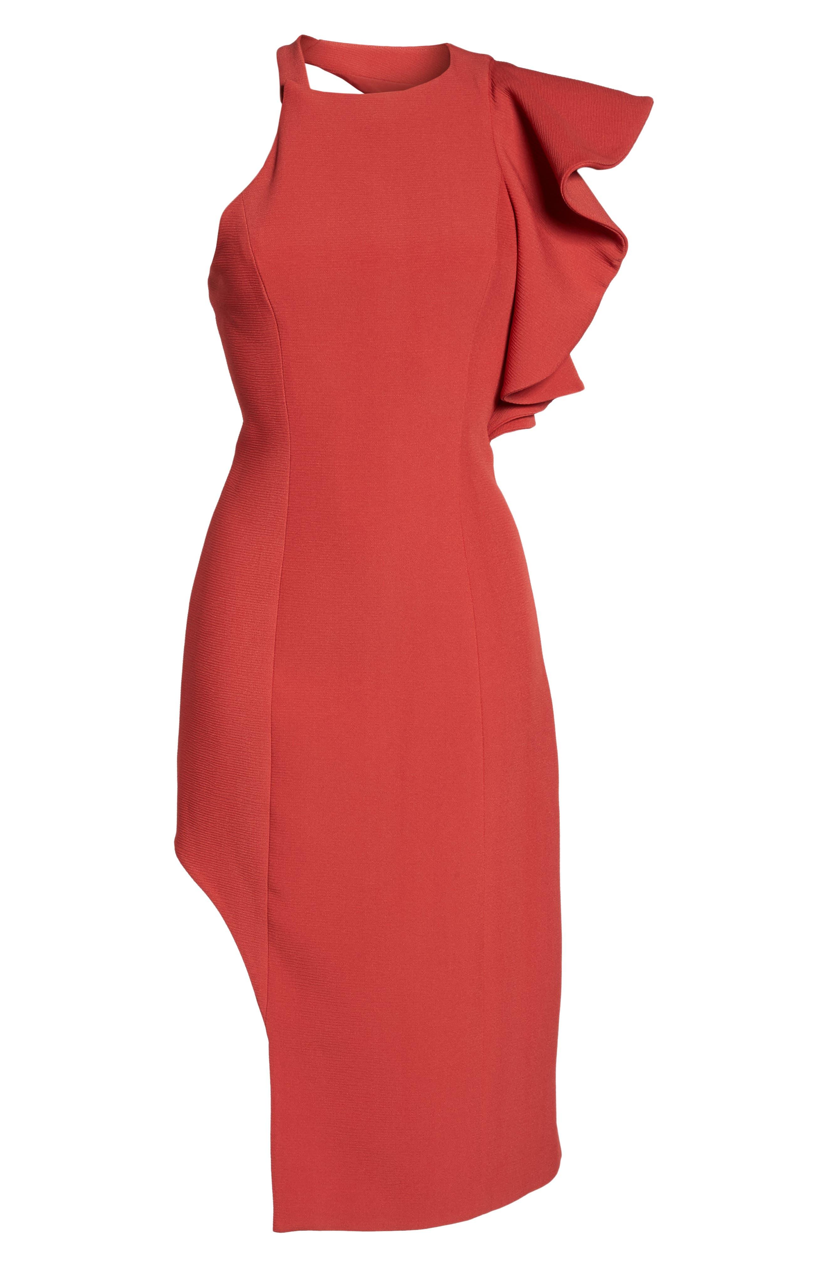 Infinite Asymmetrical Dress,                             Alternate thumbnail 6, color,                             621