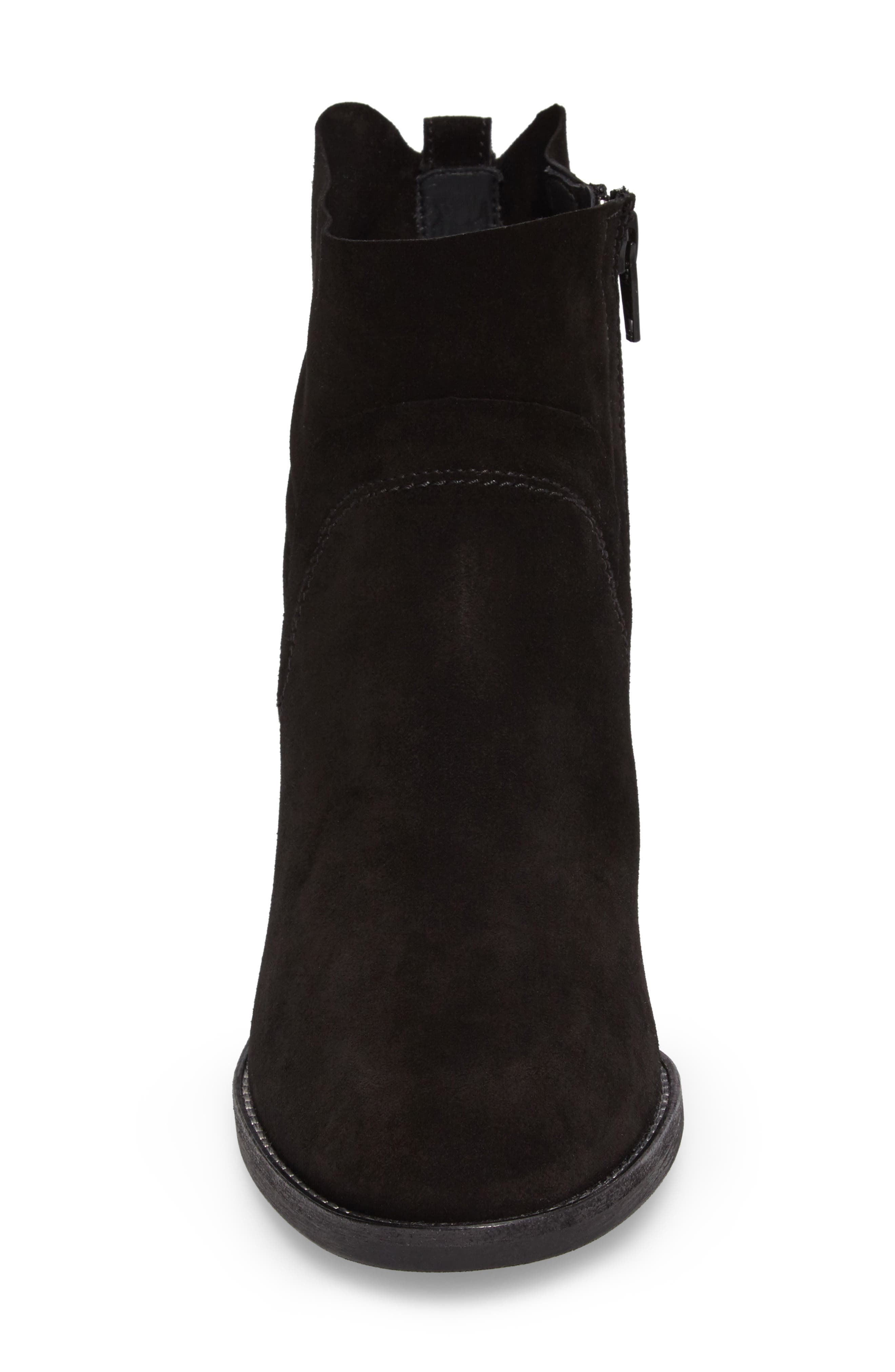 Nora Water Resistant Bootie,                             Alternate thumbnail 4, color,                             003