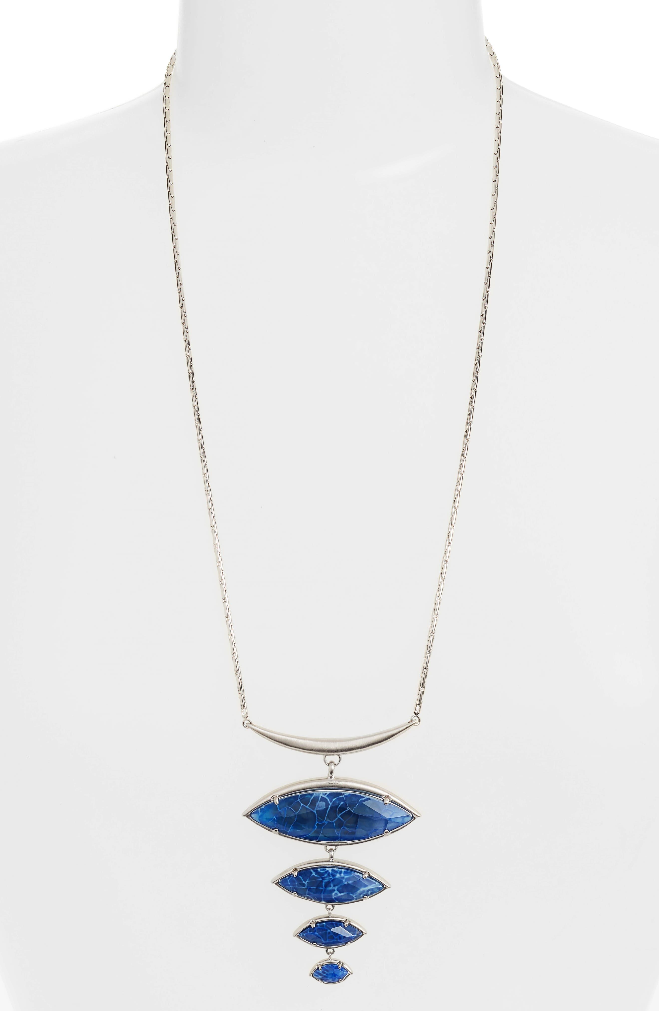 Morris Bib Necklace,                         Main,                         color, 403