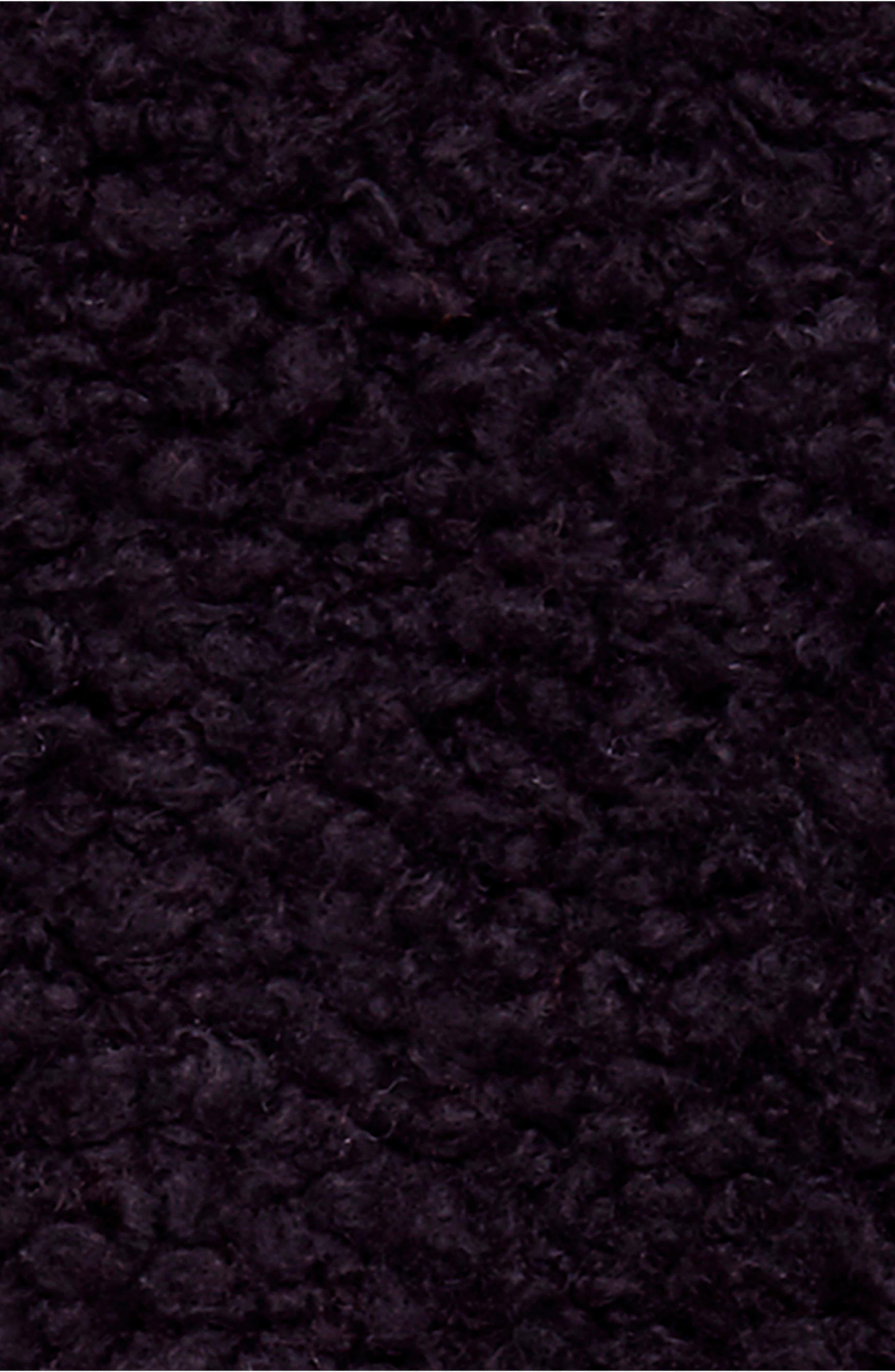 So Soft Peacoat,                             Alternate thumbnail 6, color,                             BLACK