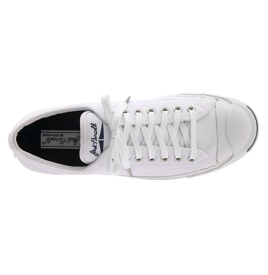 'Jack Purcell' Leather Sneaker,                             Alternate thumbnail 2, color,                             WLE
