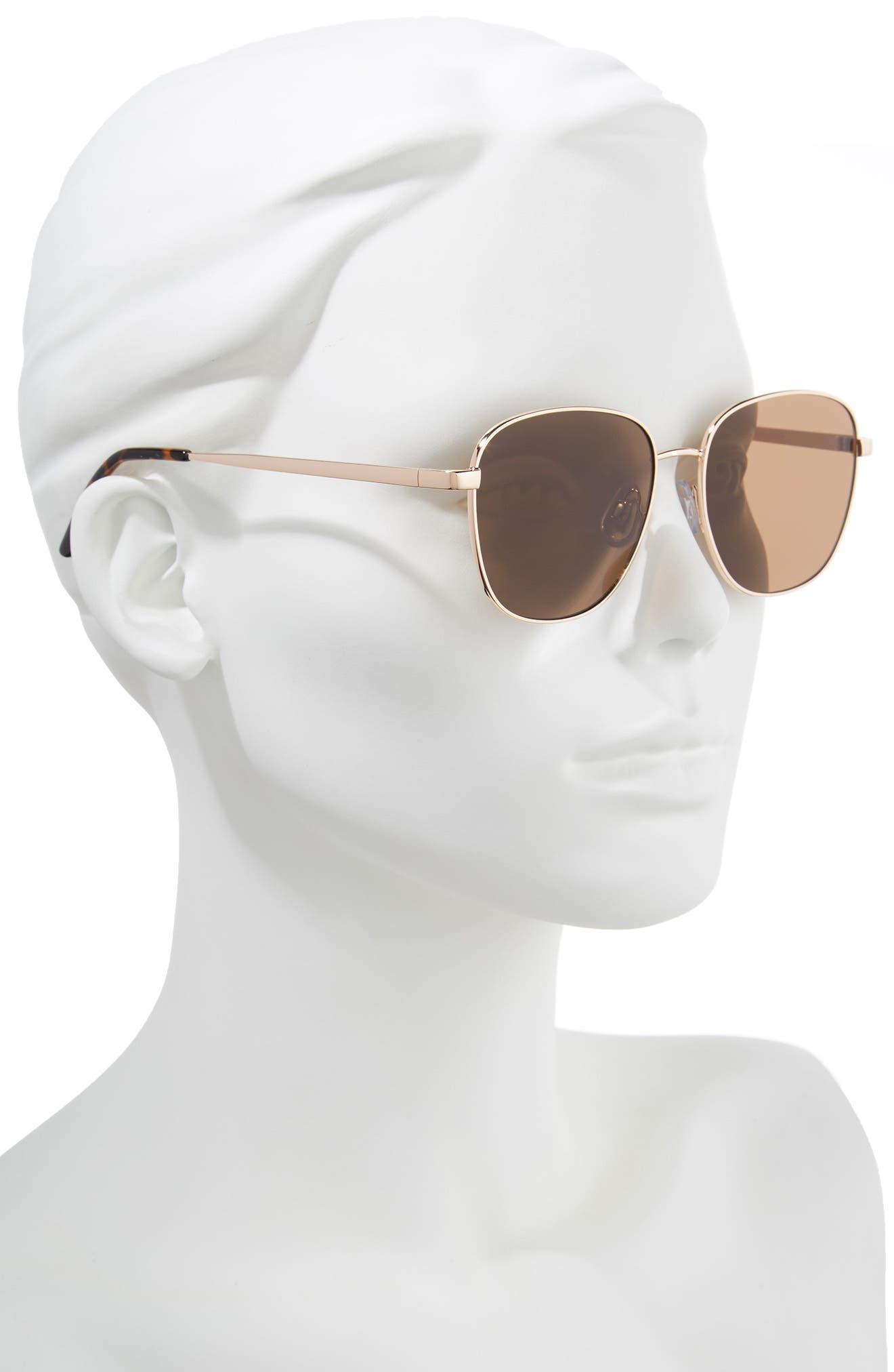 53mm Square Sunglasses,                             Alternate thumbnail 2, color,                             710