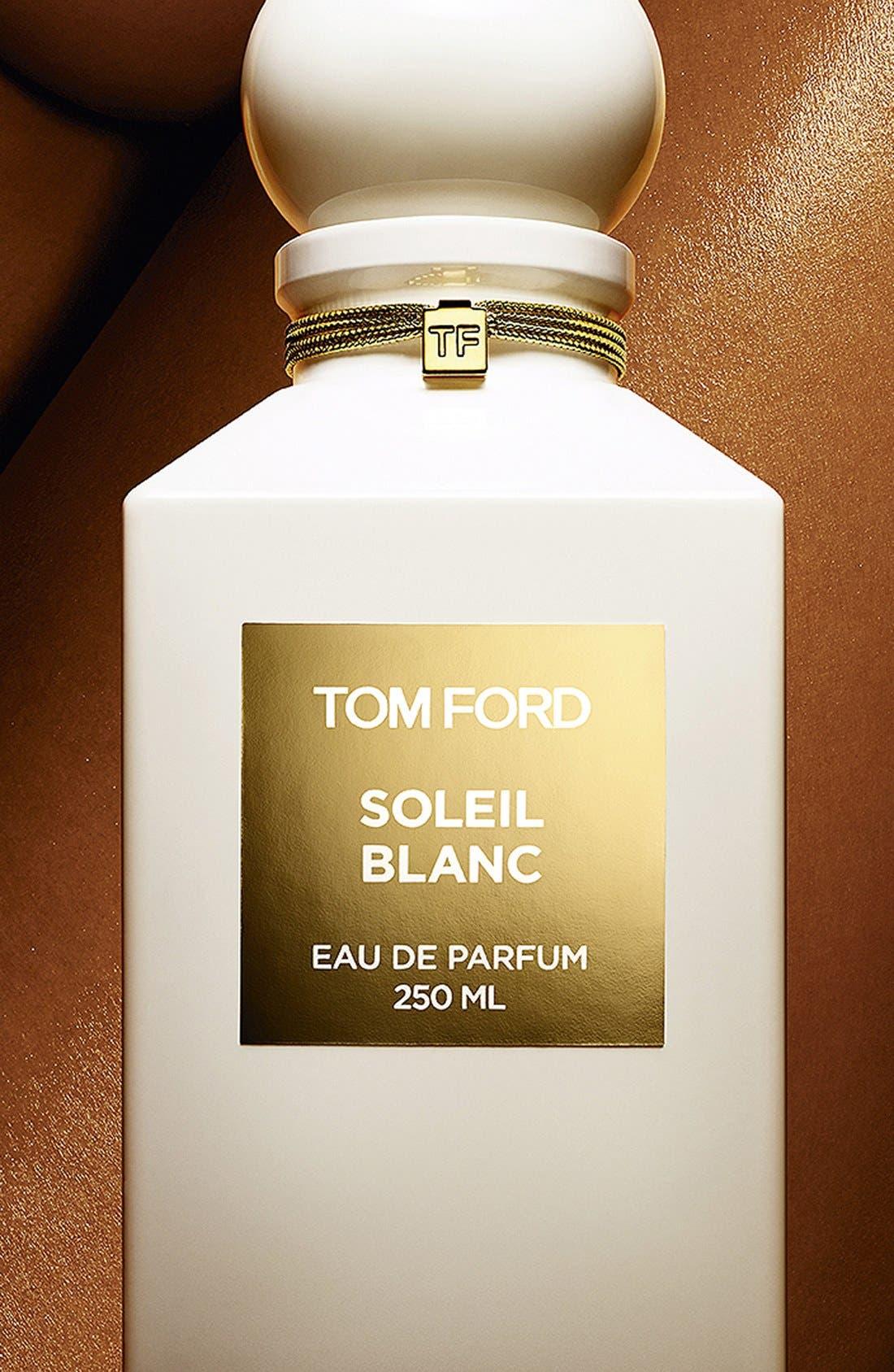 Private Blend Soleil Blanc Eau de Parfum Decanter,                             Alternate thumbnail 4, color,                             NO COLOR