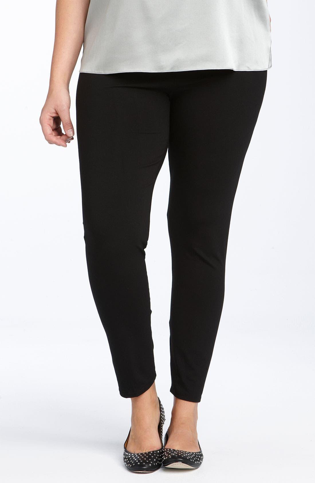 Ankle Leggings, Main, color, BLACK
