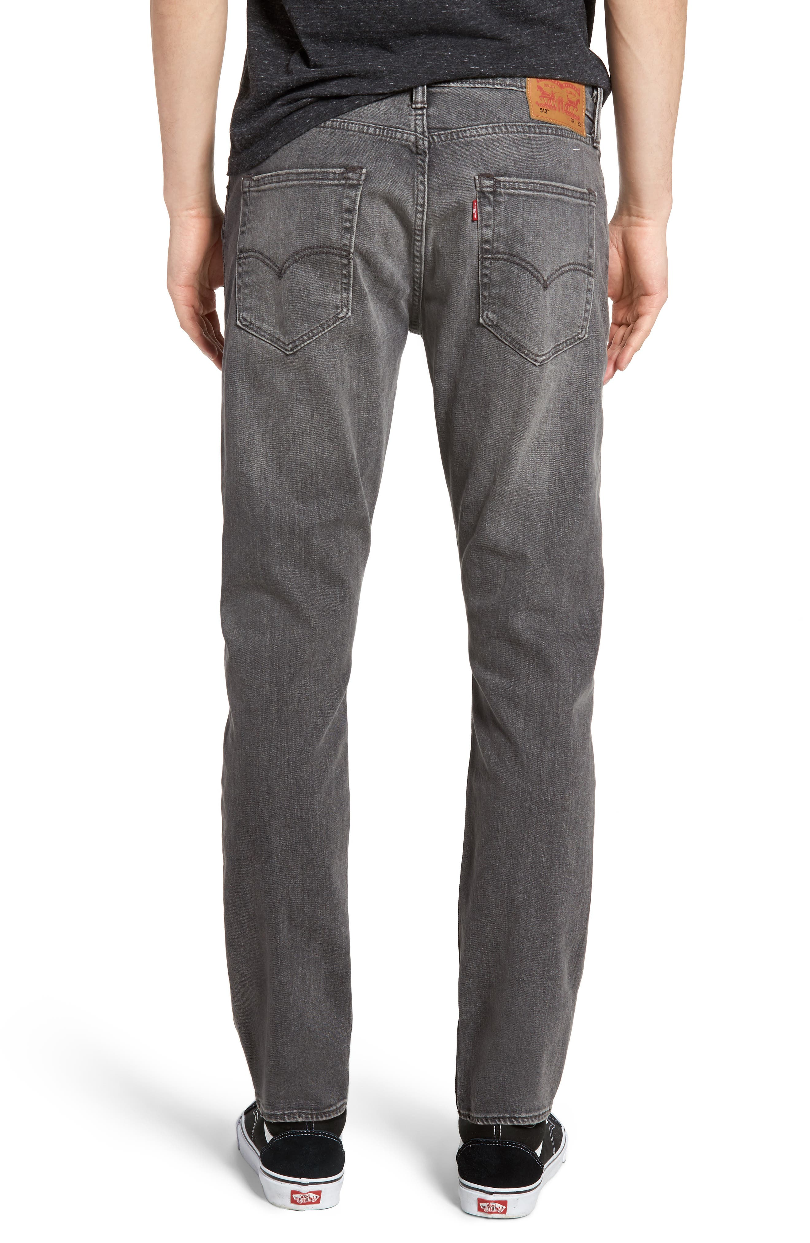512<sup>™</sup> Slouchy Skinny Fit Jeans,                             Alternate thumbnail 2, color,                             001