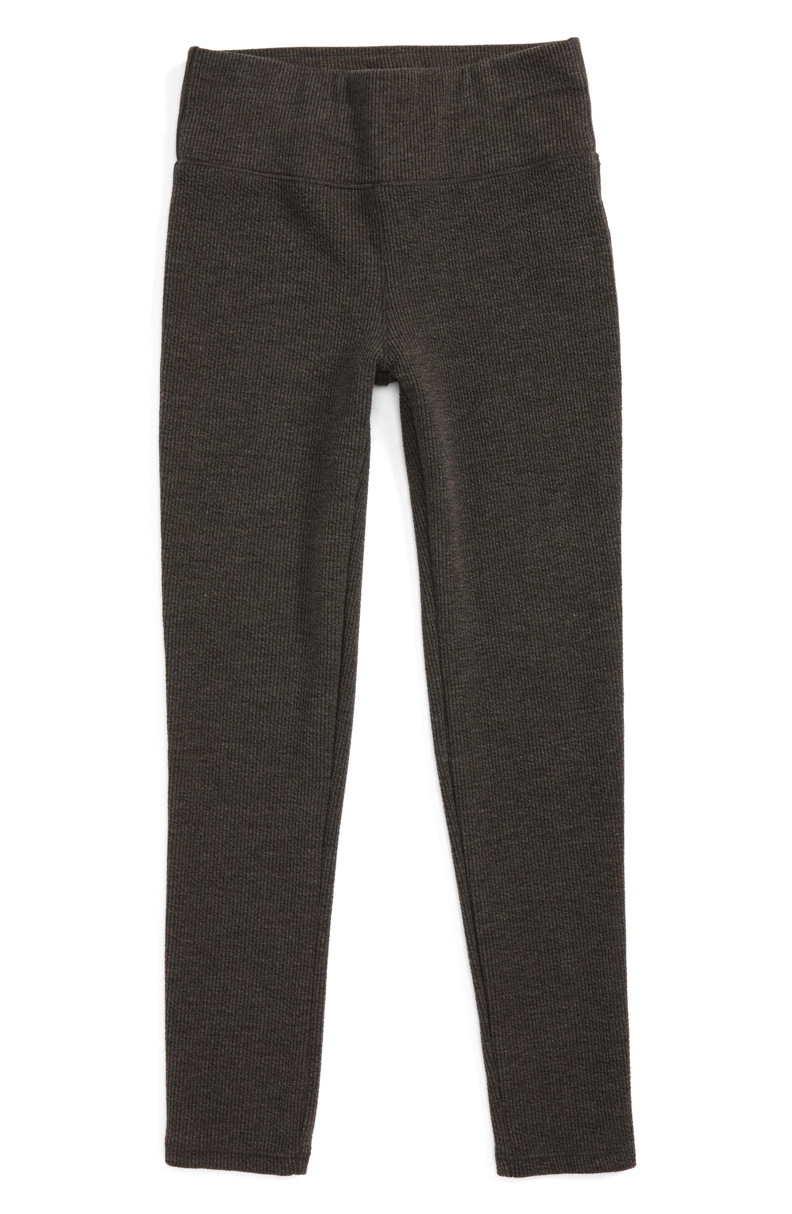 Rib Knit Leggings,                         Main,                         color, 020