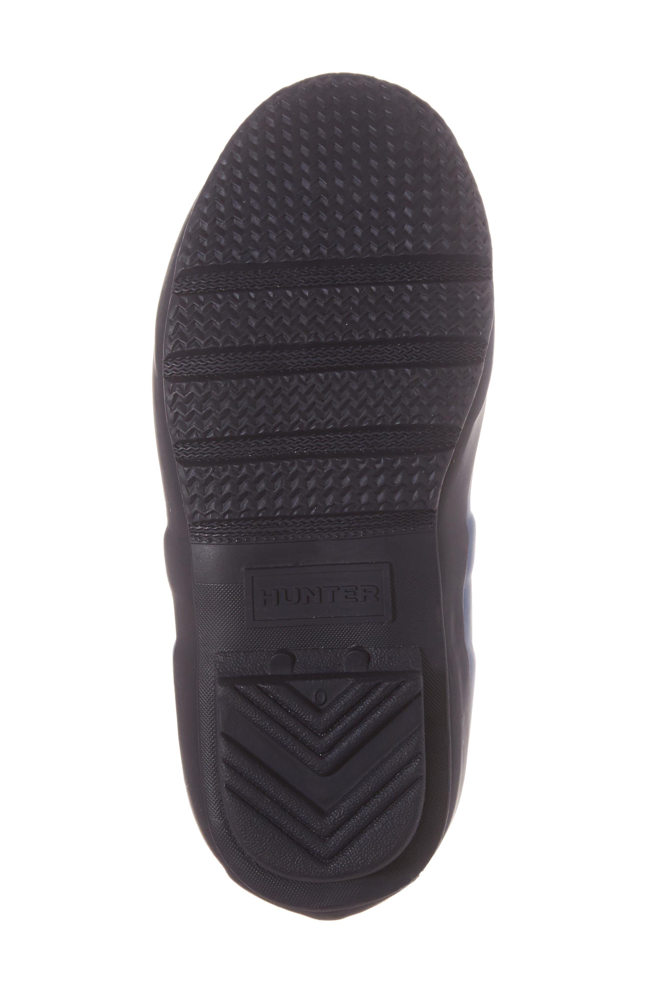 'Original Contrast Sole' Waterproof Rain Boot,                             Alternate thumbnail 6, color,                             400
