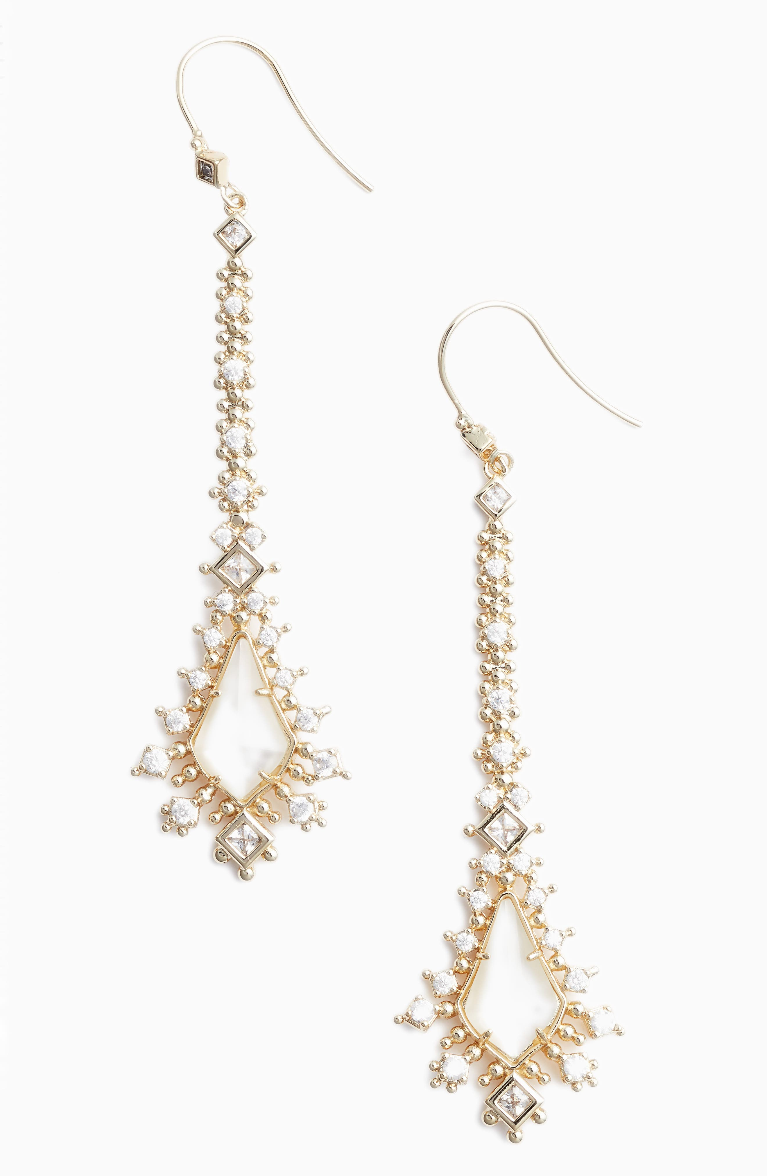 Reimer Mother of Pearl Drop Earrings,                             Main thumbnail 3, color,
