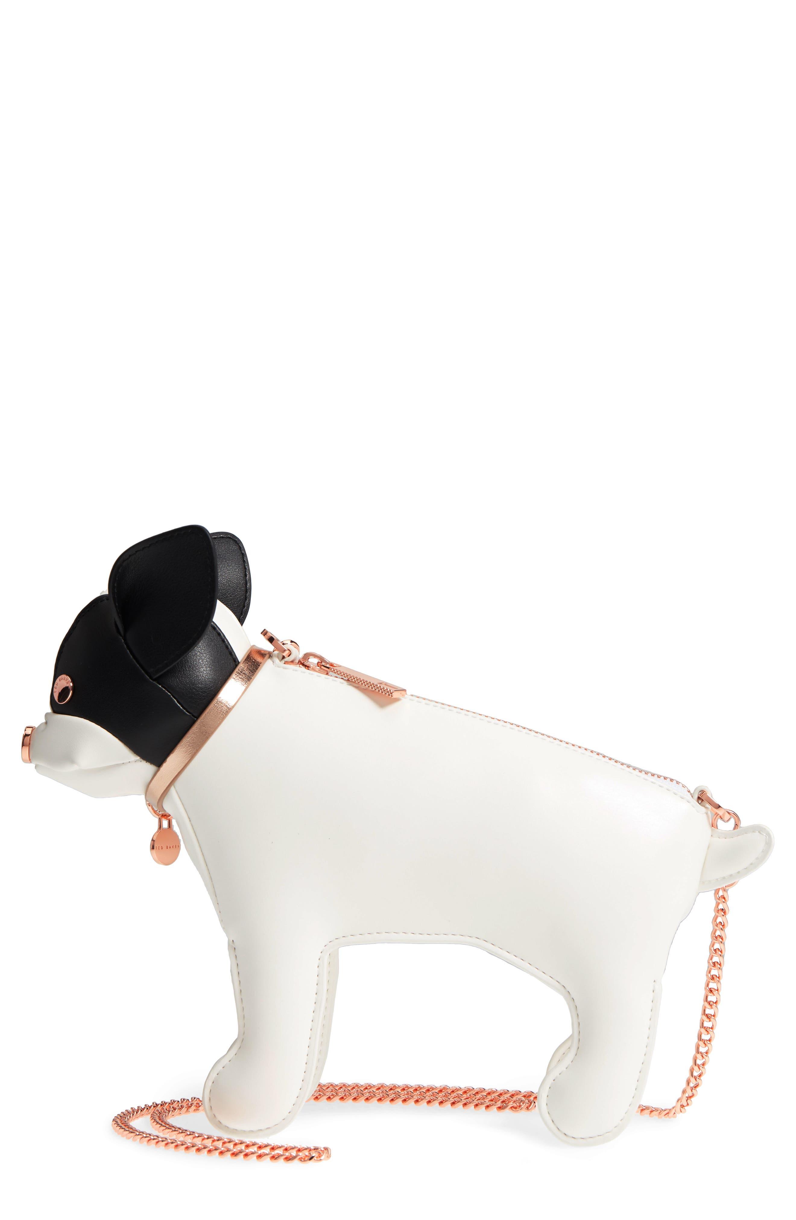 Boston Terrier Crossbody Bag,                             Main thumbnail 1, color,