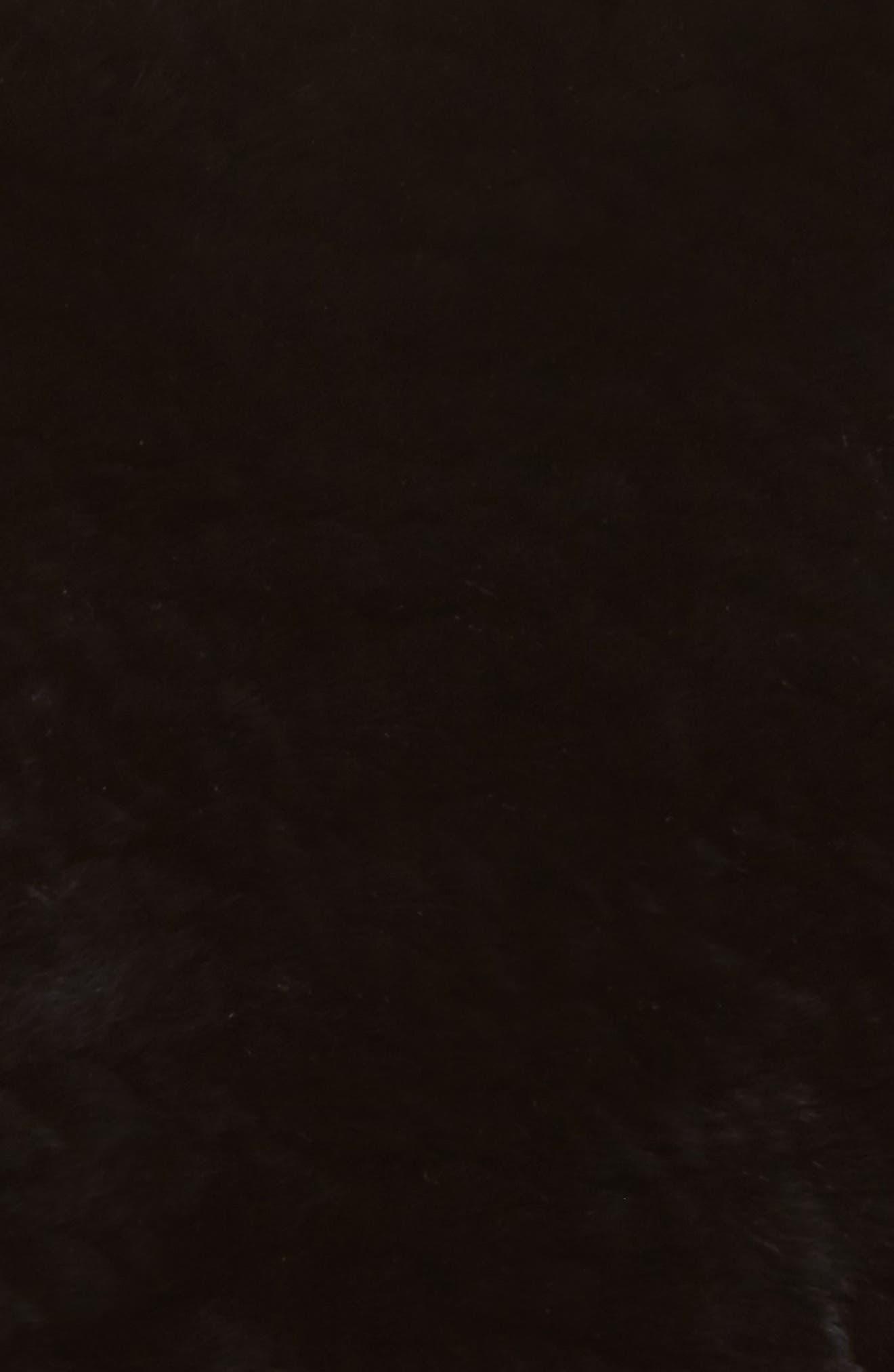 Genuine Rabbit Stretch Cowl,                             Alternate thumbnail 4, color,                             001