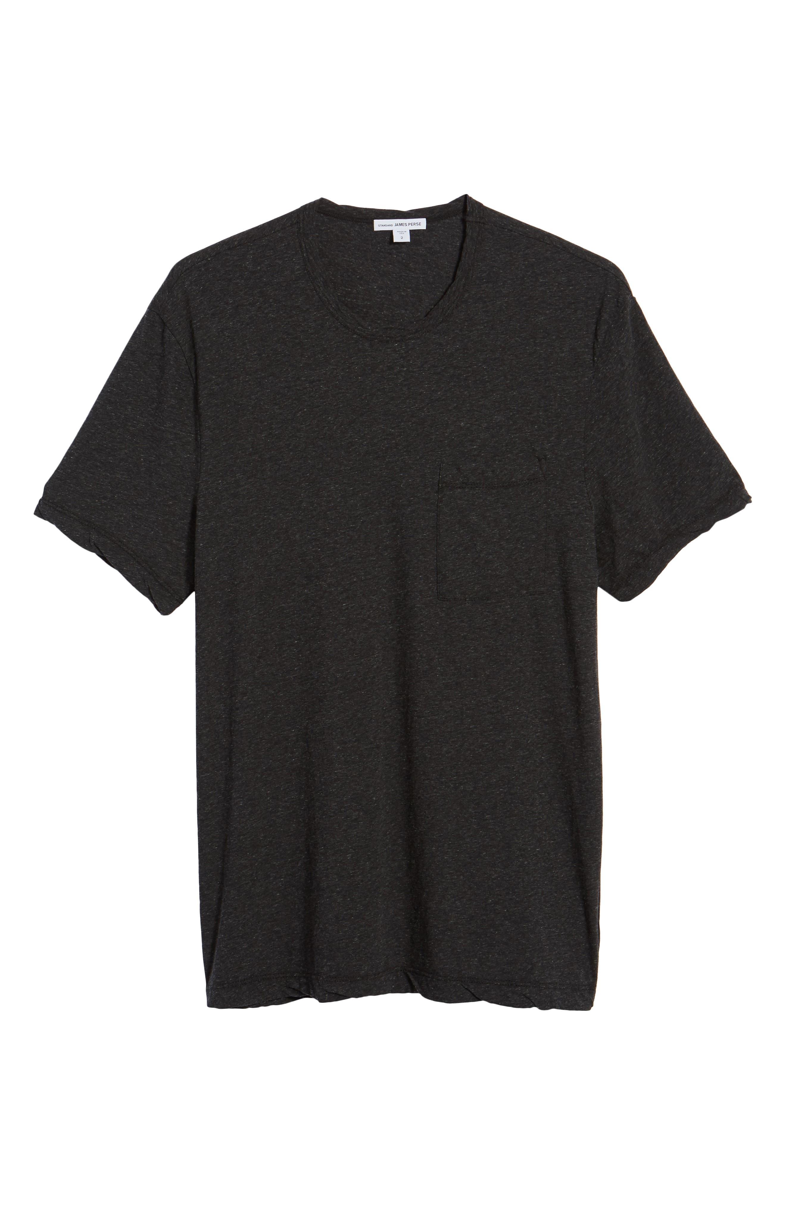 High Twist Regular Fit T-Shirt,                             Alternate thumbnail 6, color,                             025