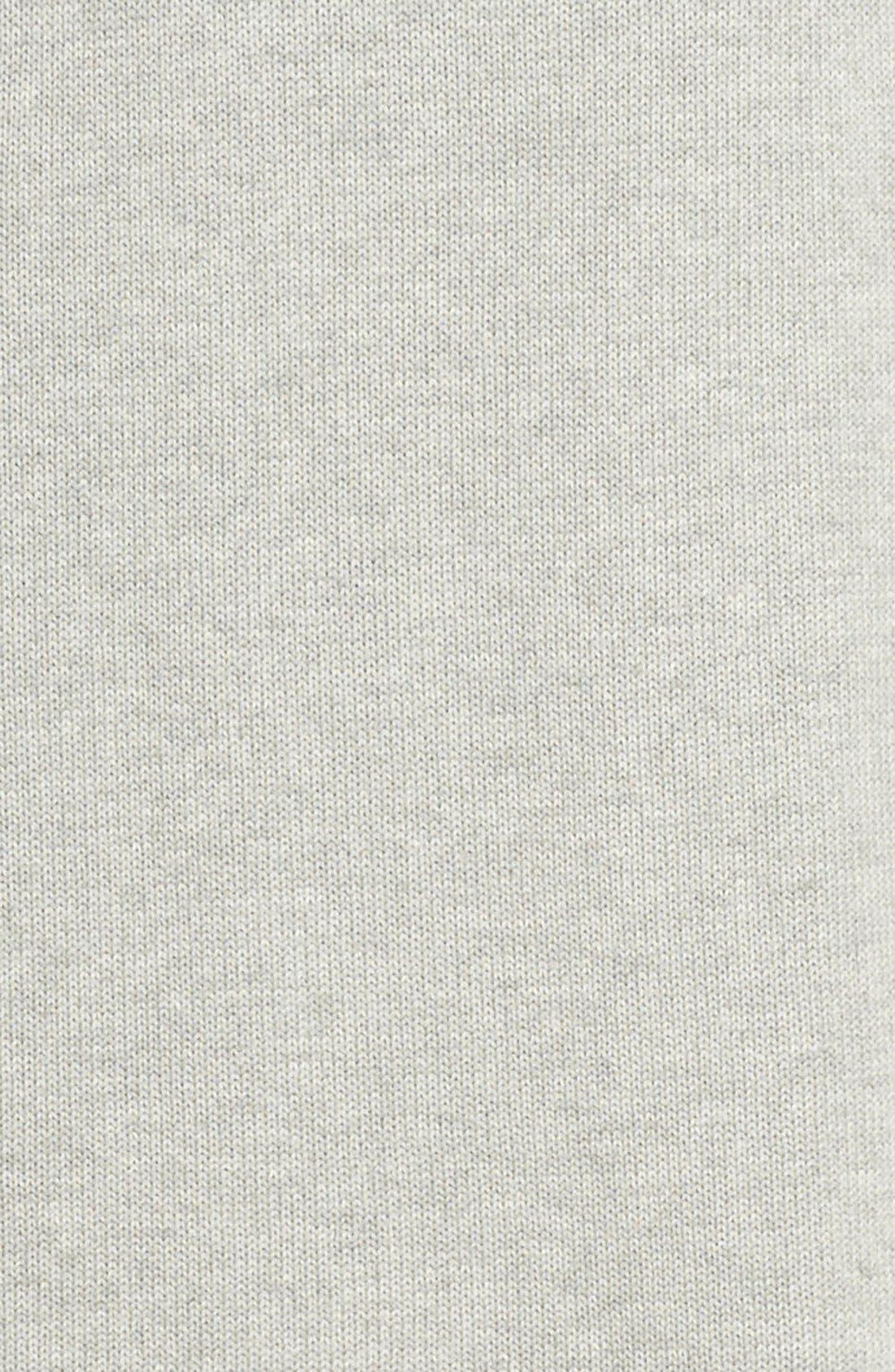 'Ballet' Knit Cotton Blend Robe,                             Alternate thumbnail 8, color,