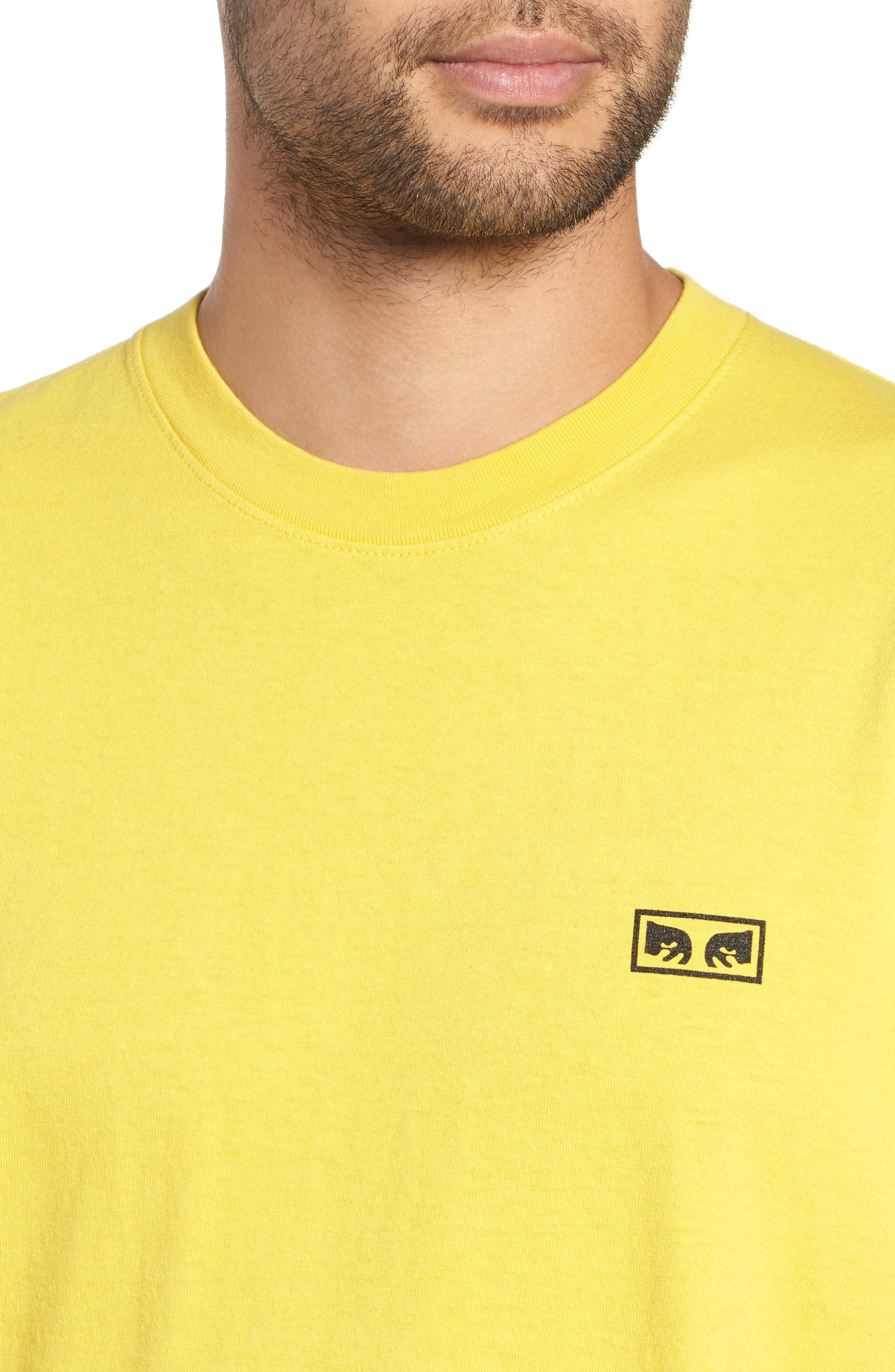 No One Box T-Shirt,                             Alternate thumbnail 4, color,                             SPECTRA YELLOW