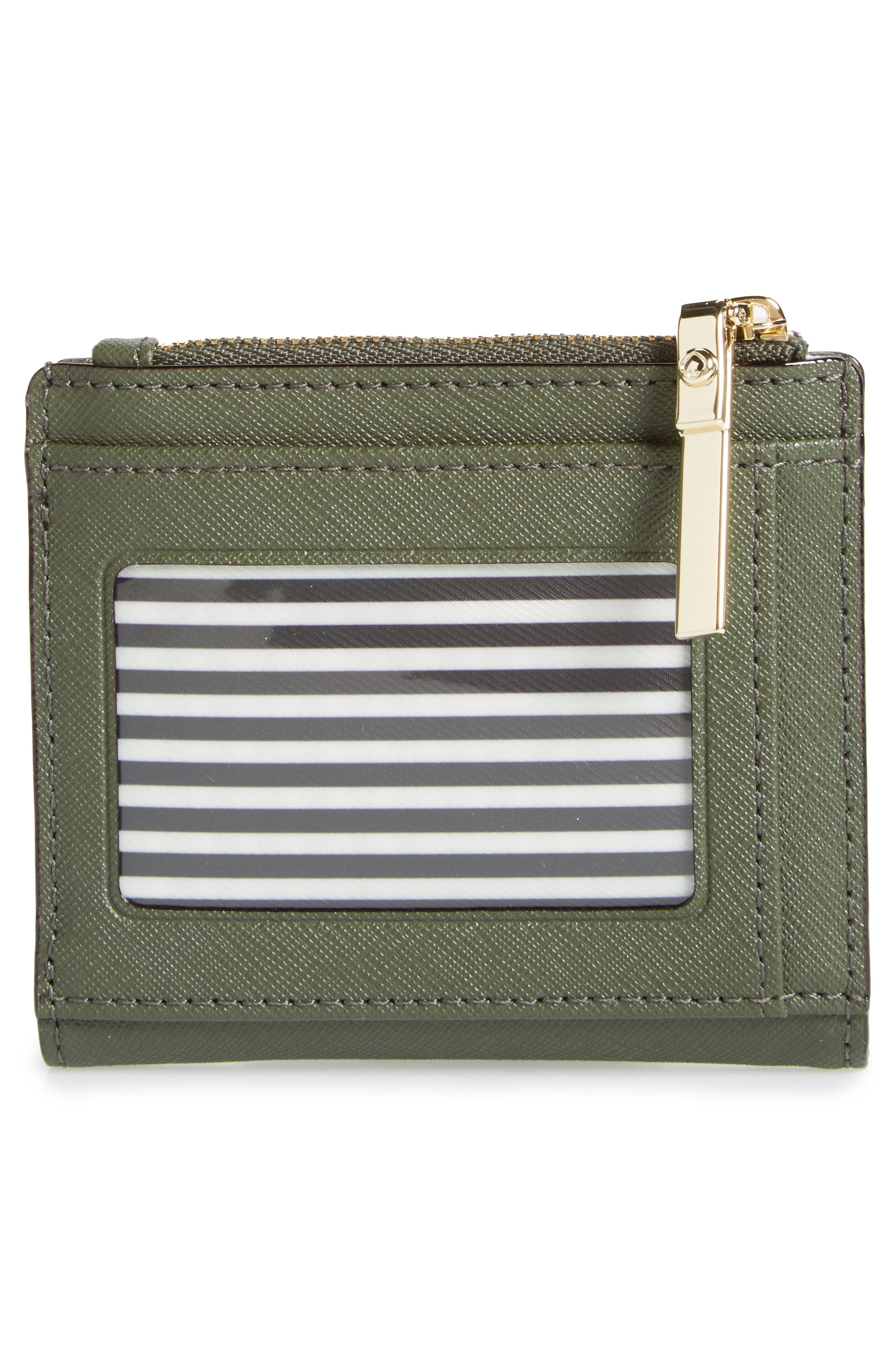 cameron street - adalyn slim leather wallet,                             Alternate thumbnail 4, color,                             300