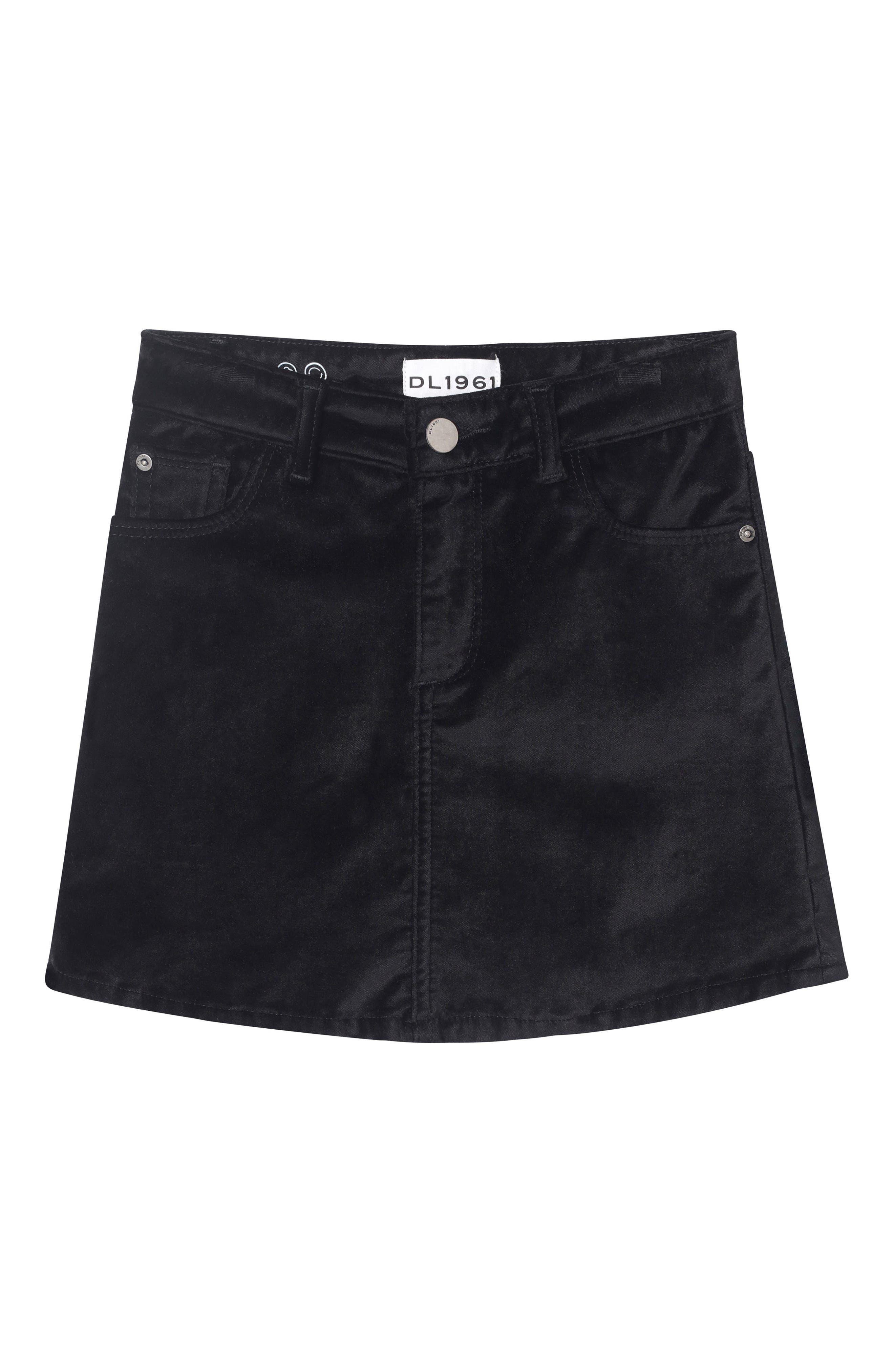 Girls Dl1961 Jenny Velvet Skirt