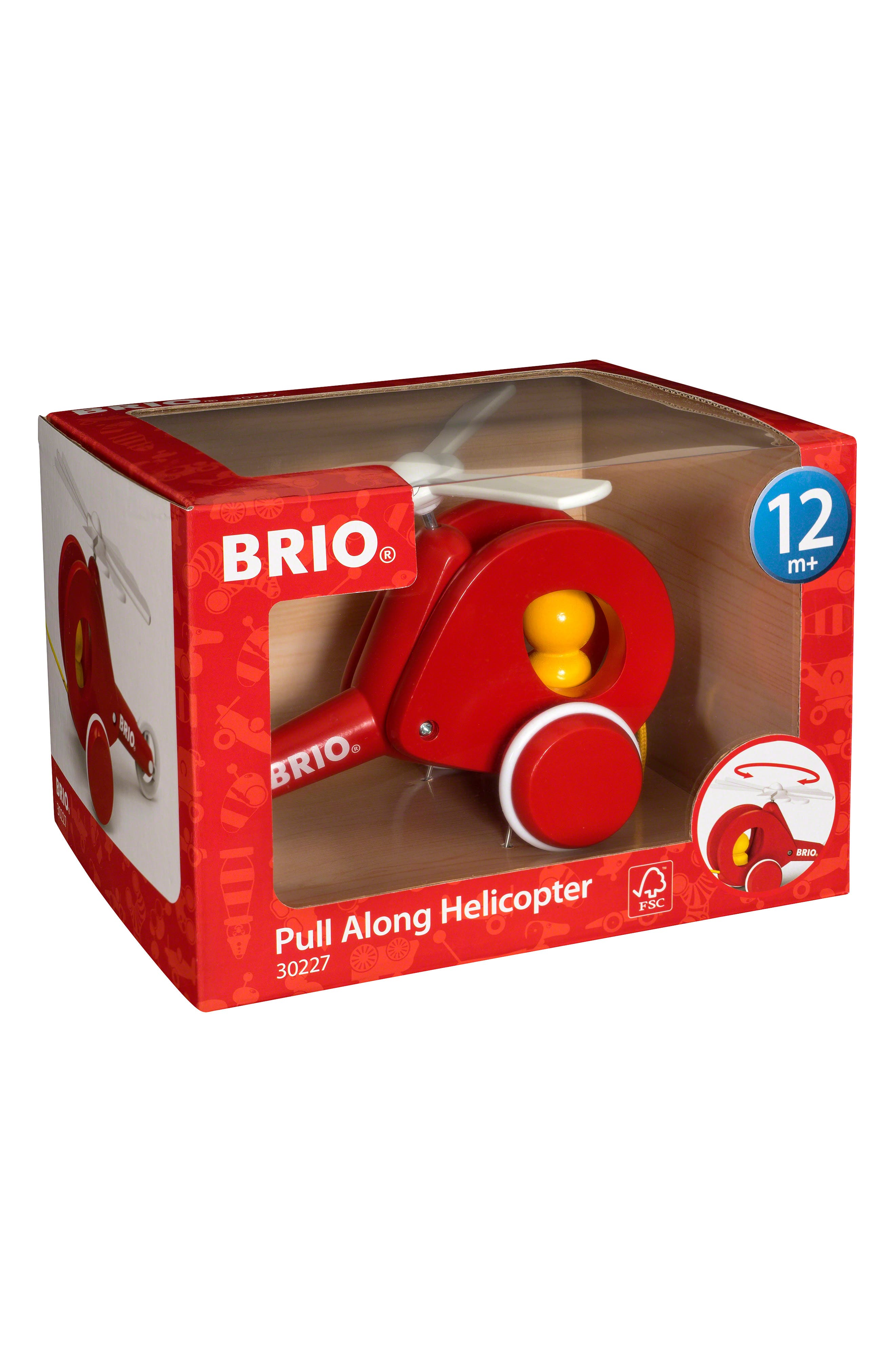 Toddler Boys Ravensburger Pull Along Toy Helicopter