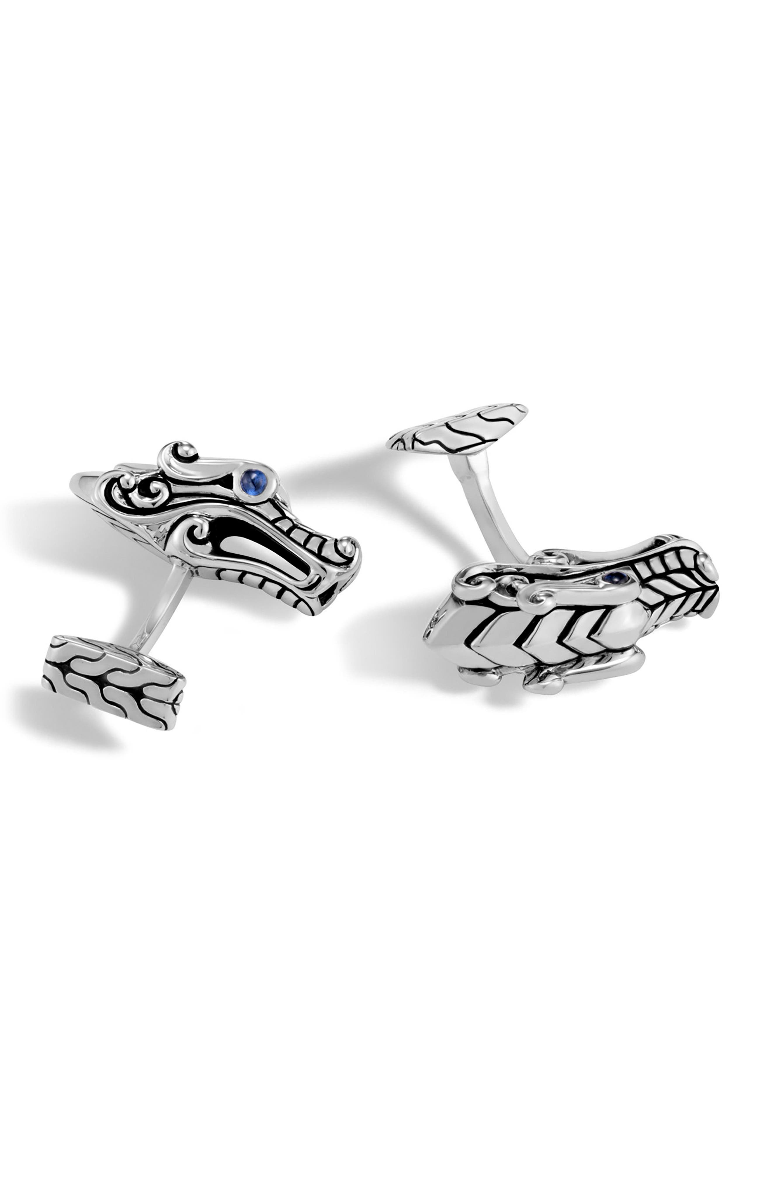 Legends Naga Cuff Links,                             Main thumbnail 1, color,                             040