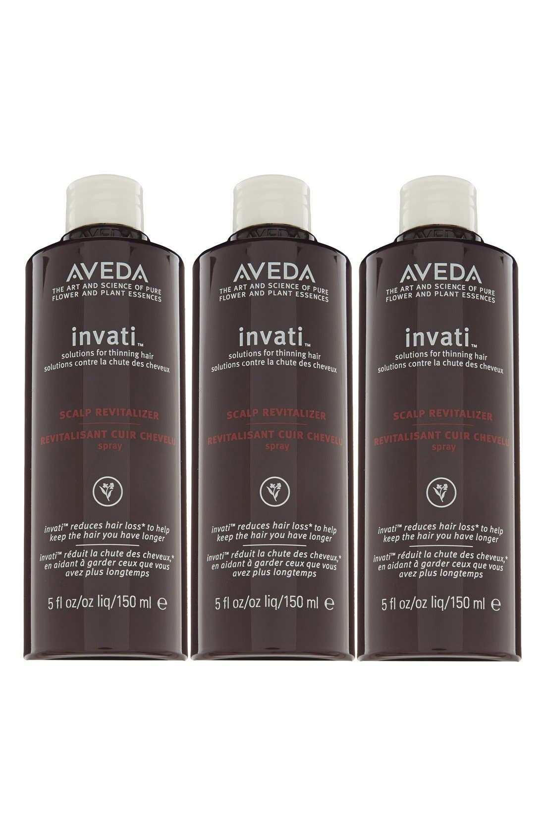 invati<sup>™</sup> Scalp Revitalizer Refill Trio,                             Alternate thumbnail 3, color,
