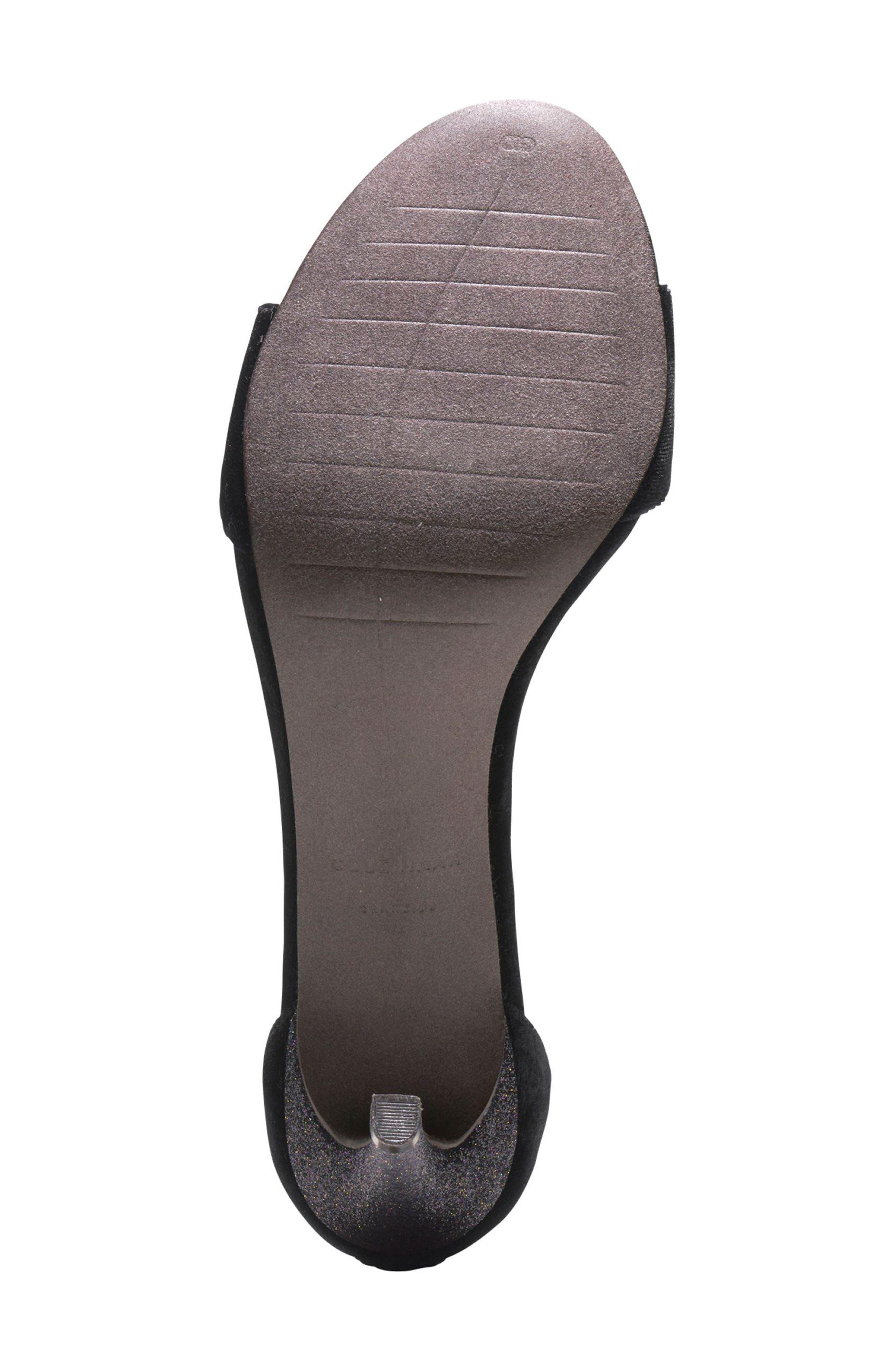 Clara Grand Ankle Strap Sandal,                             Alternate thumbnail 5, color,                             001