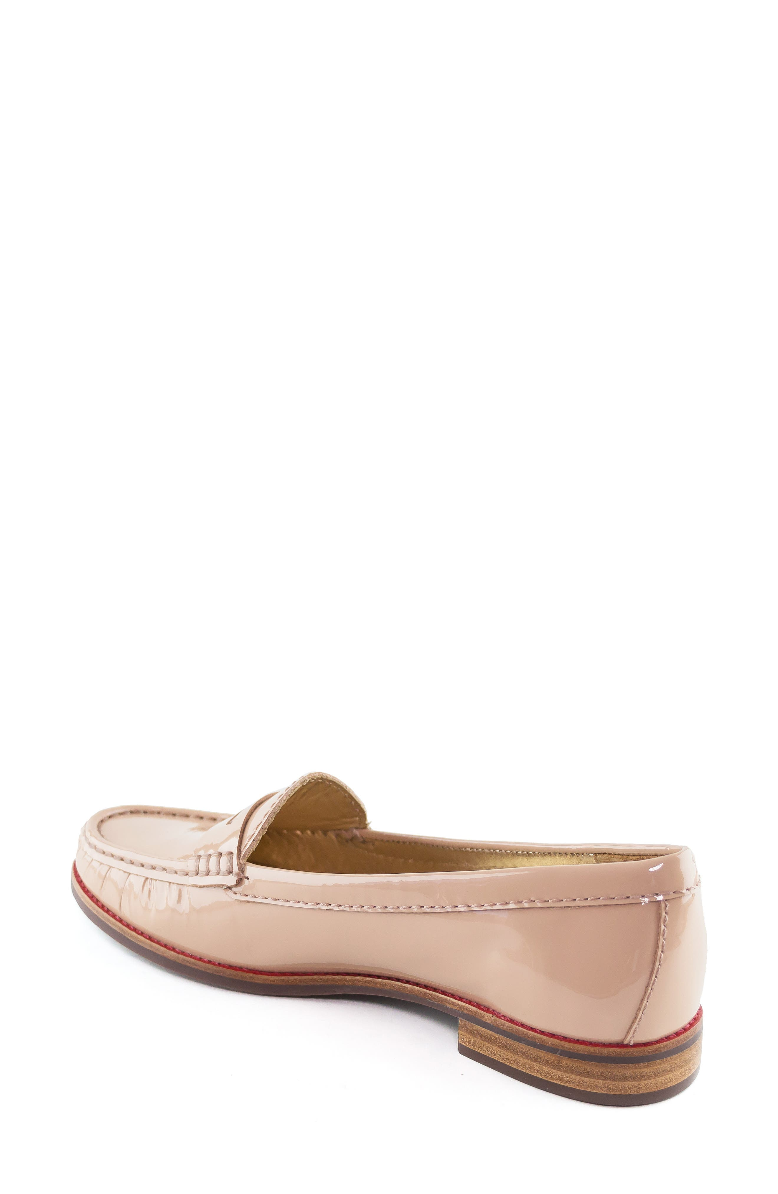 East Village Loafer,                             Alternate thumbnail 2, color,                             NUDE PATENT