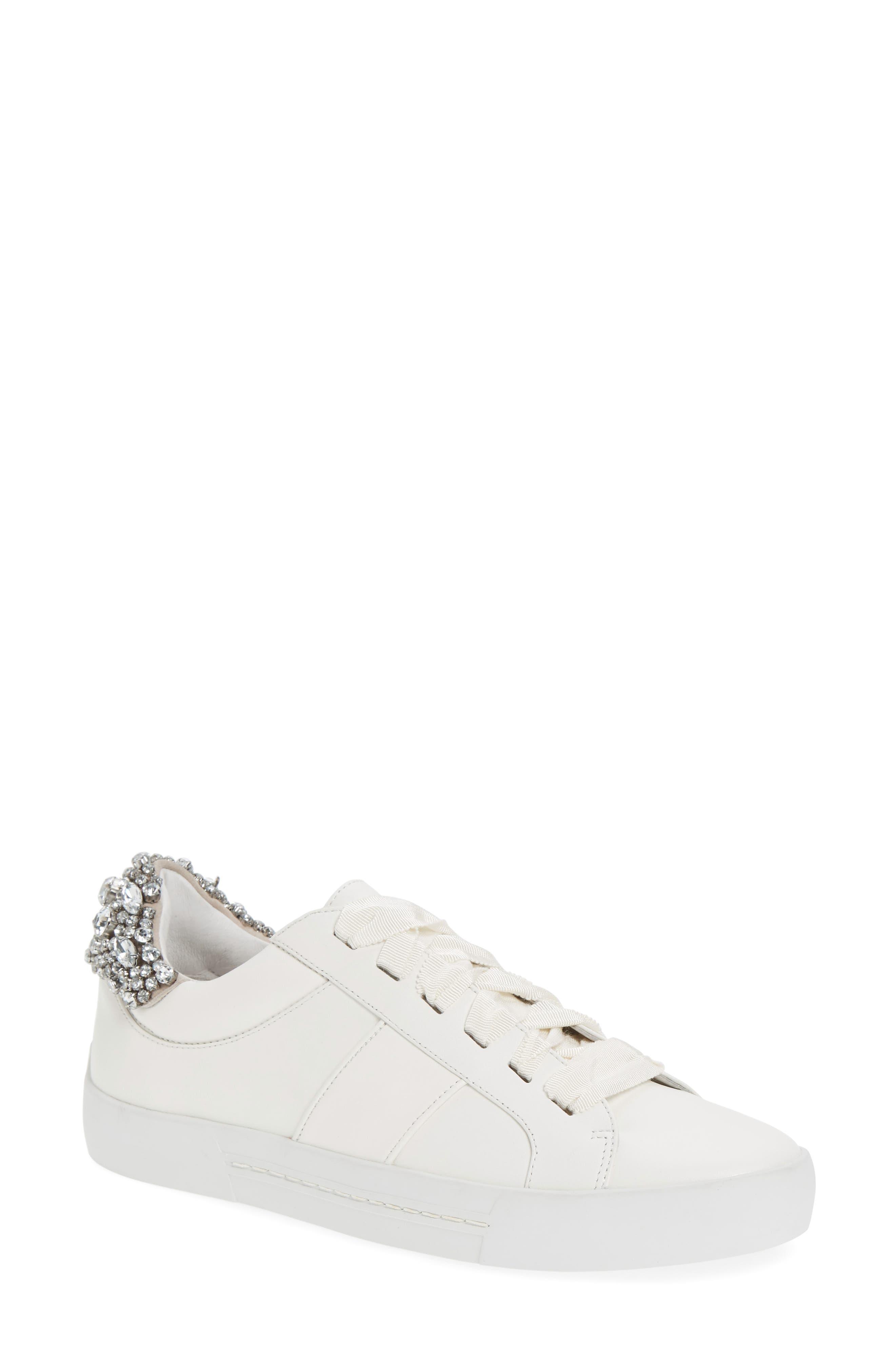 Darena Crystal Embellished Sneaker,                             Main thumbnail 2, color,
