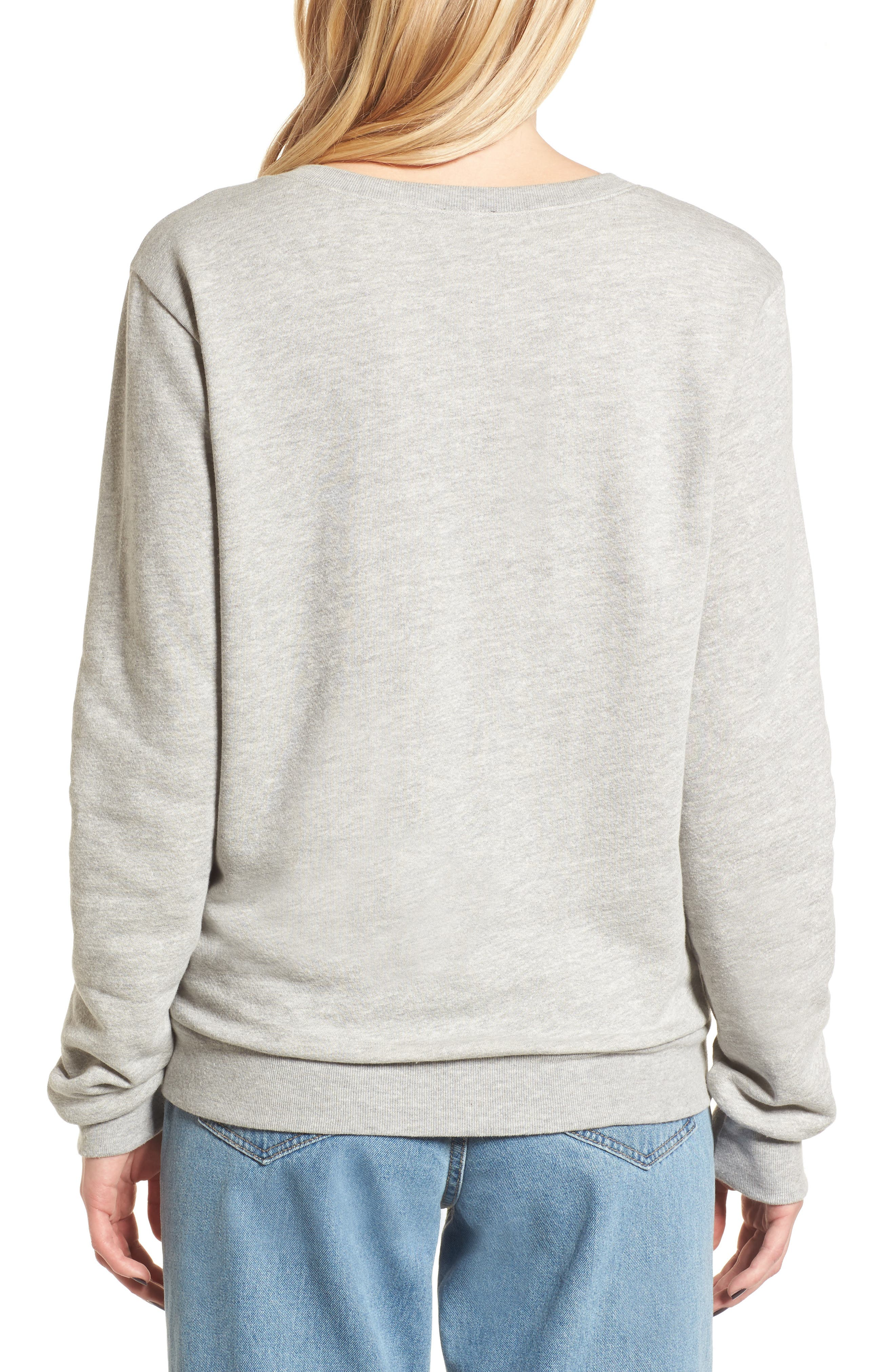 Red Hot Chili Peppers Sweatshirt,                             Alternate thumbnail 2, color,