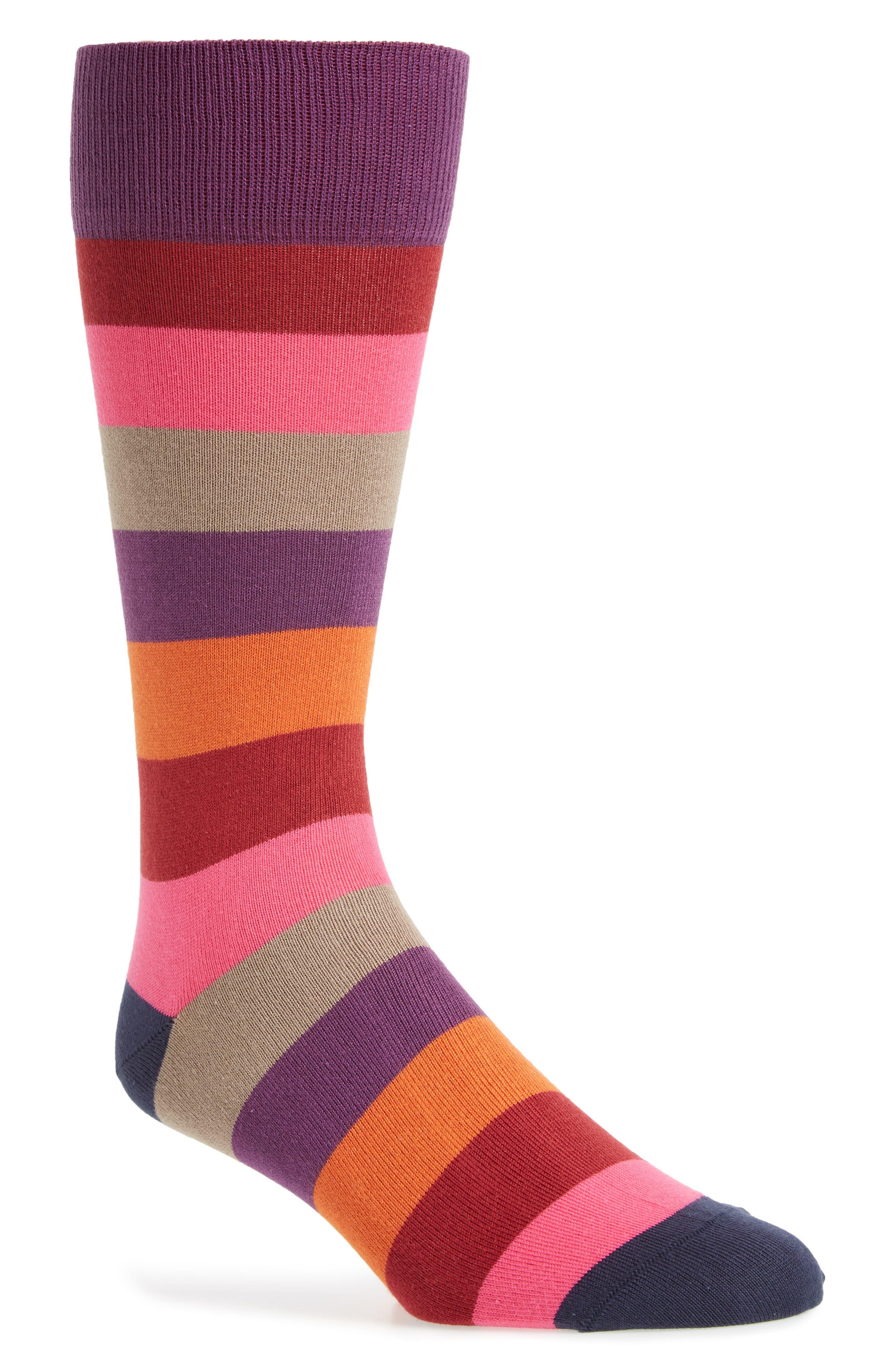 Buxton Stripe Socks,                             Main thumbnail 3, color,
