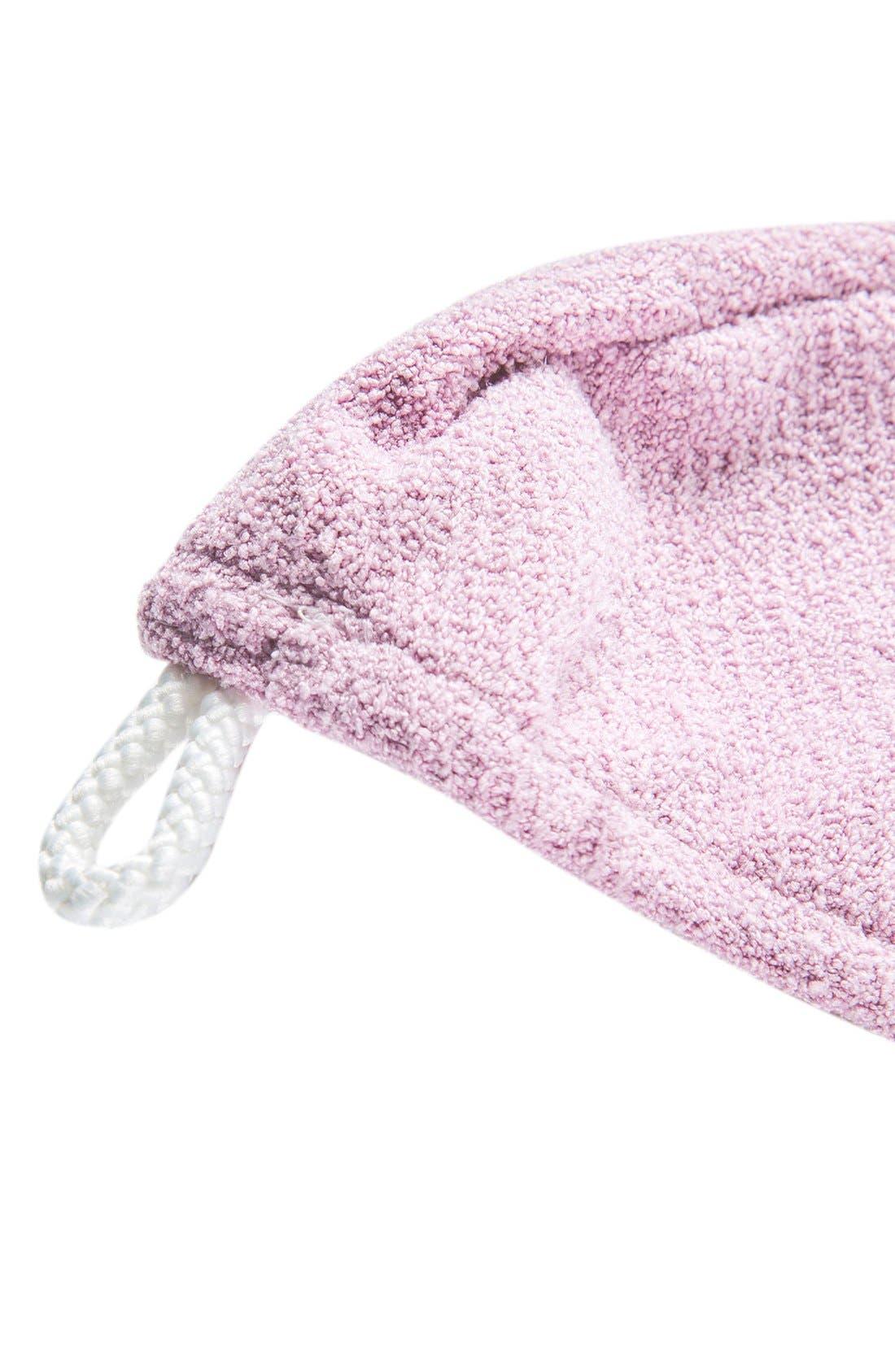 Lisse Luxe Desert Rose Hair Turban,                             Alternate thumbnail 8, color,                             DESERT ROSE