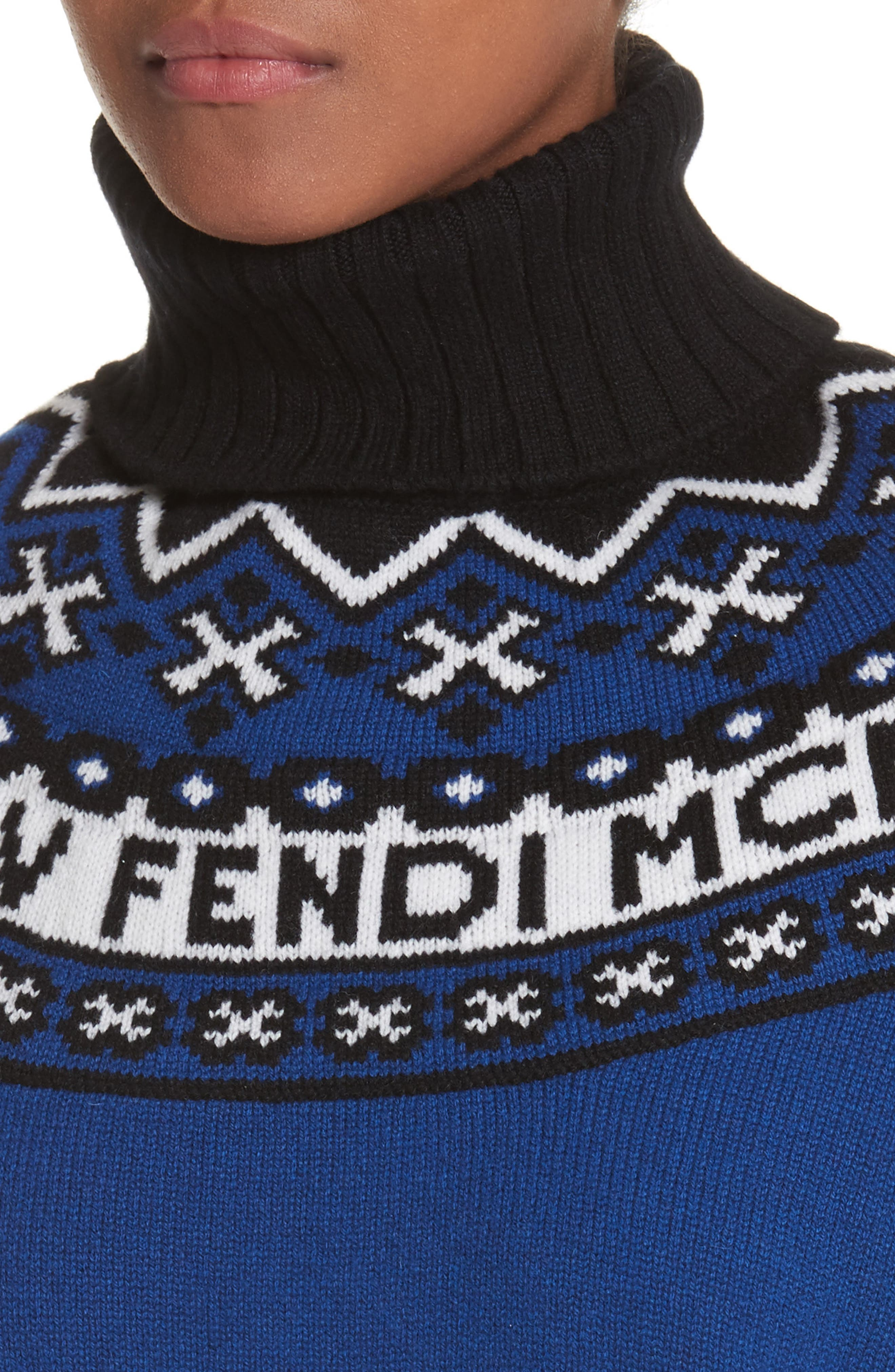 Heritage Wool & Cashmere Sweater,                             Alternate thumbnail 4, color,