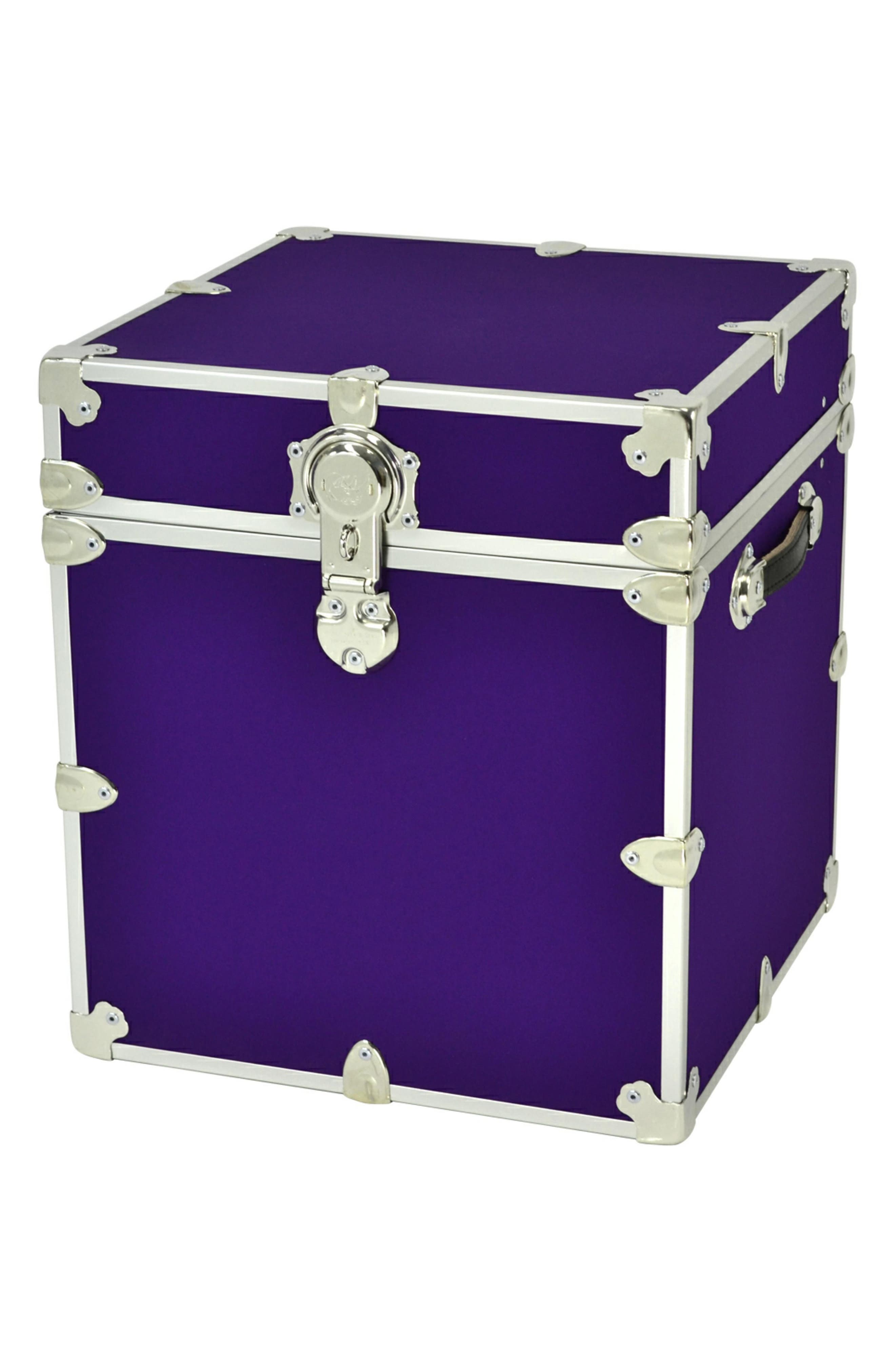 Rhino Trunk  Case Armor Cube Trunk Size One Size  Purple