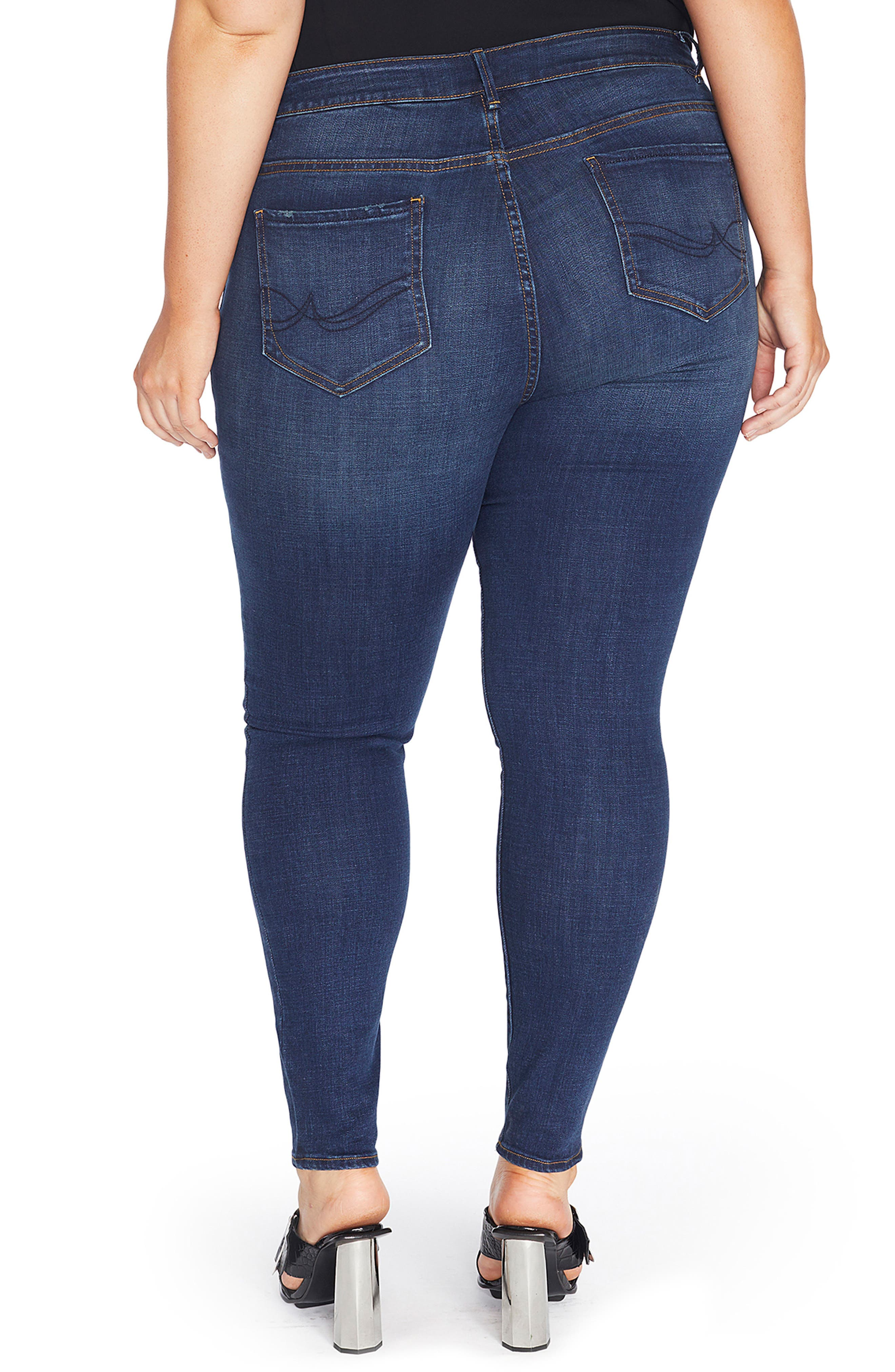 The Pin Up Super Skinny Jeans,                             Alternate thumbnail 9, color,