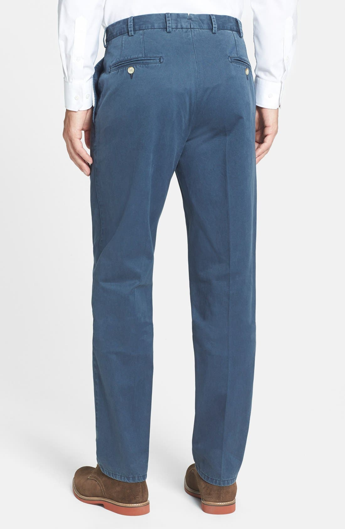 Garment Washed Twill Pants,                             Alternate thumbnail 48, color,