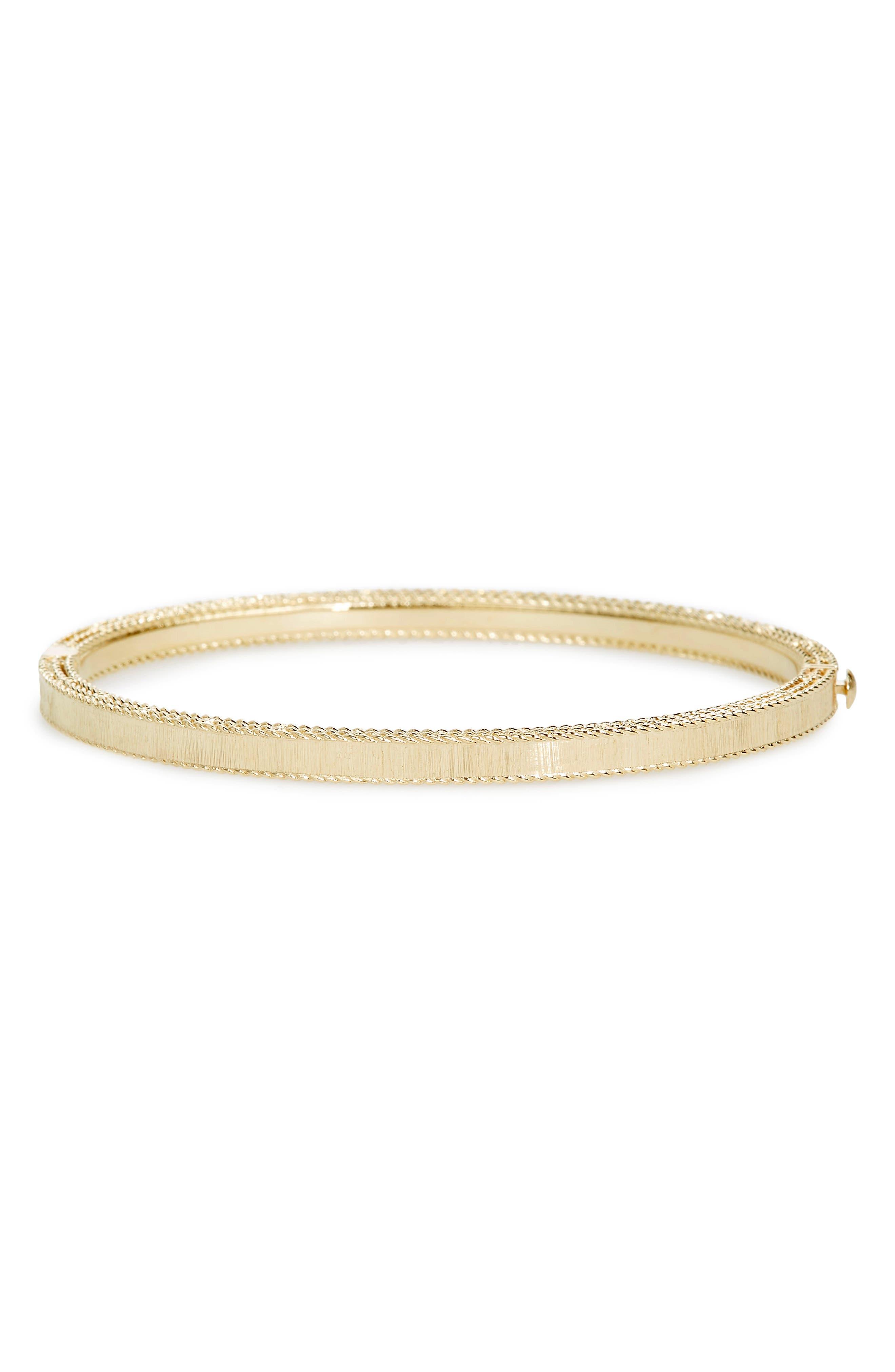 ROBERTO COIN,                             Princess Diamond Bracelet,                             Alternate thumbnail 2, color,                             YELLOW GOLD