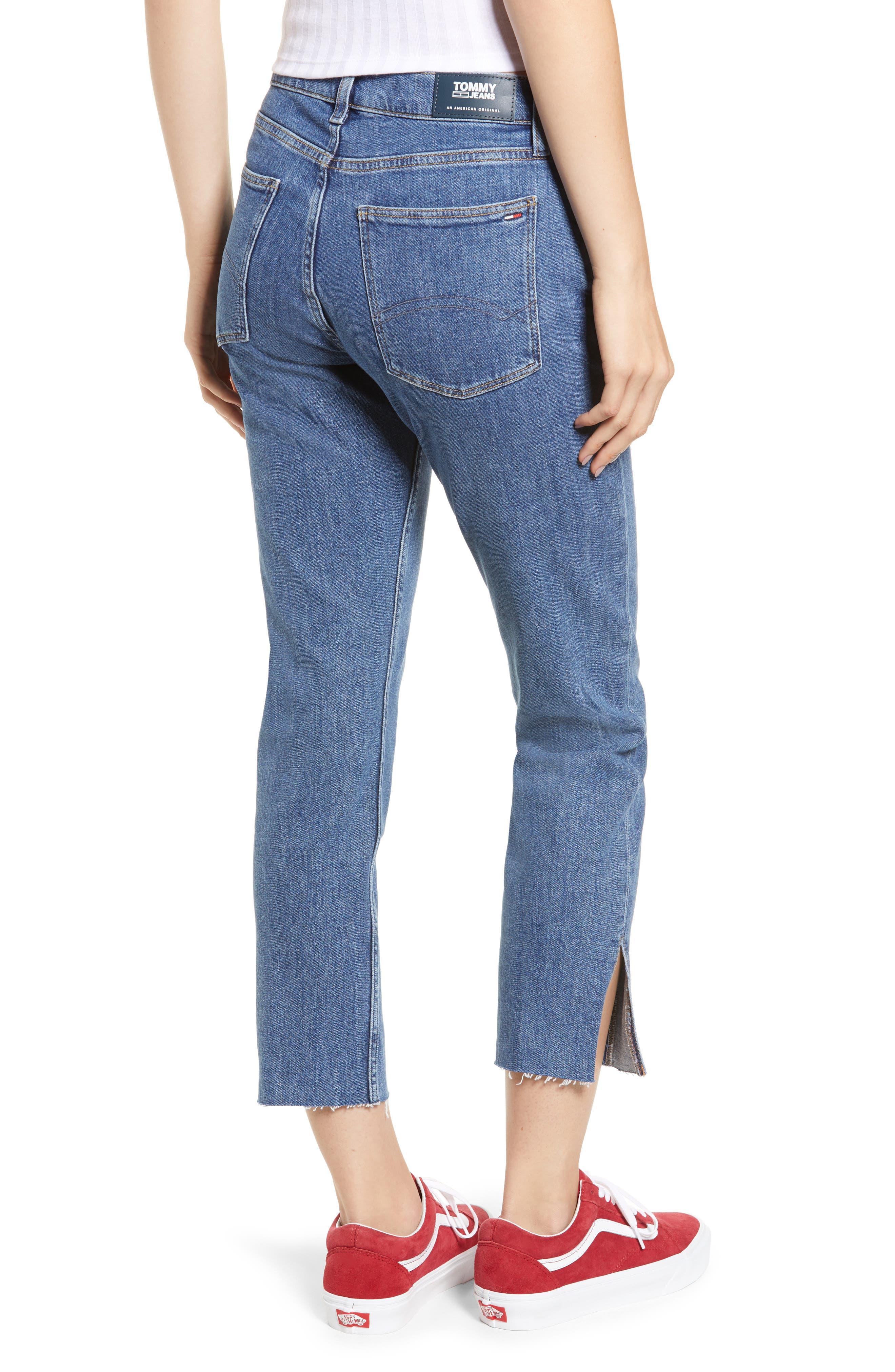 Izzy High Rise Center Seam Slim Jeans,                             Alternate thumbnail 2, color,                             400
