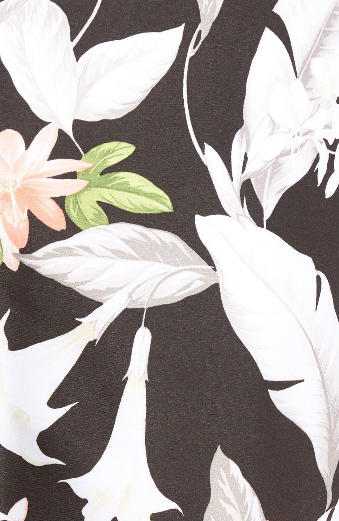 Naples Brego Blooms Swim Trunks,                             Alternate thumbnail 2, color,                             001