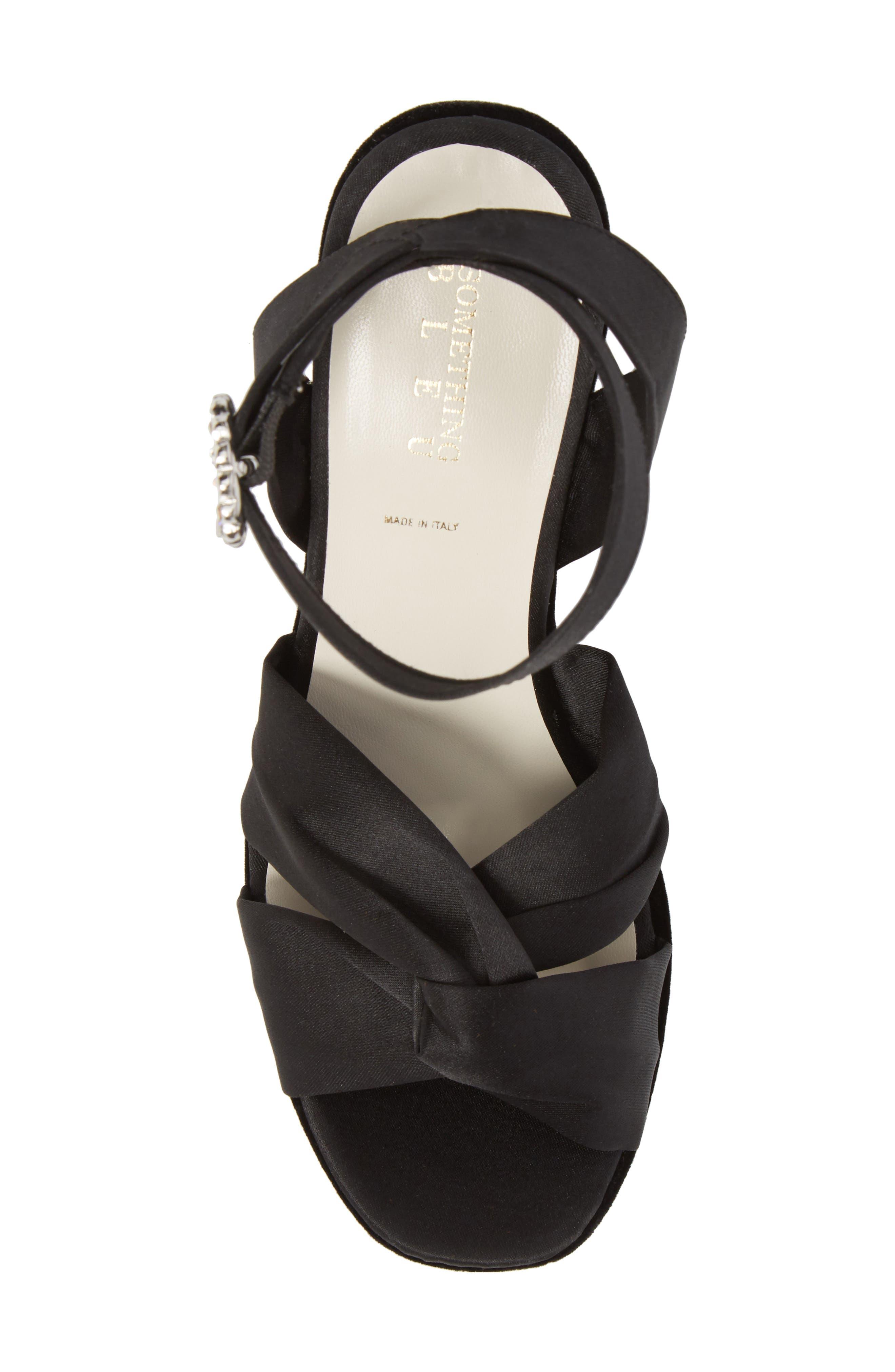 Serena Brocade Platform Sandal,                             Alternate thumbnail 17, color,