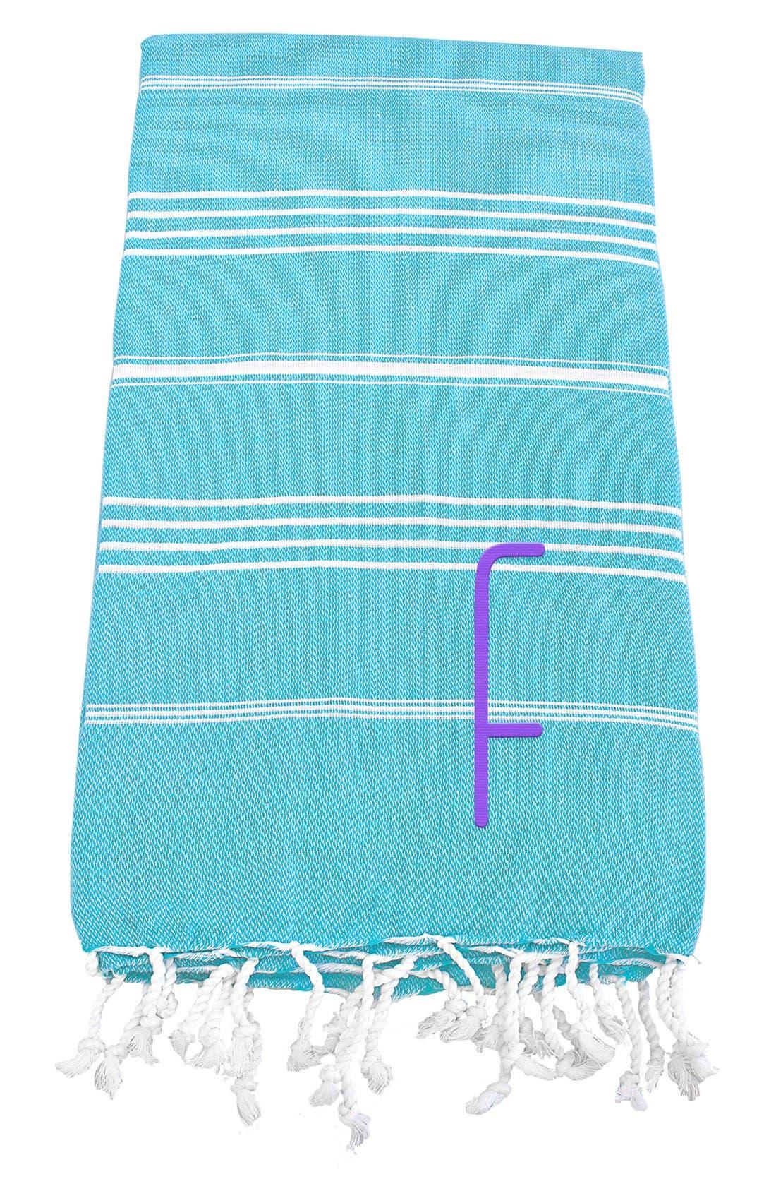 Monogram Turkish Cotton Towel,                             Main thumbnail 89, color,