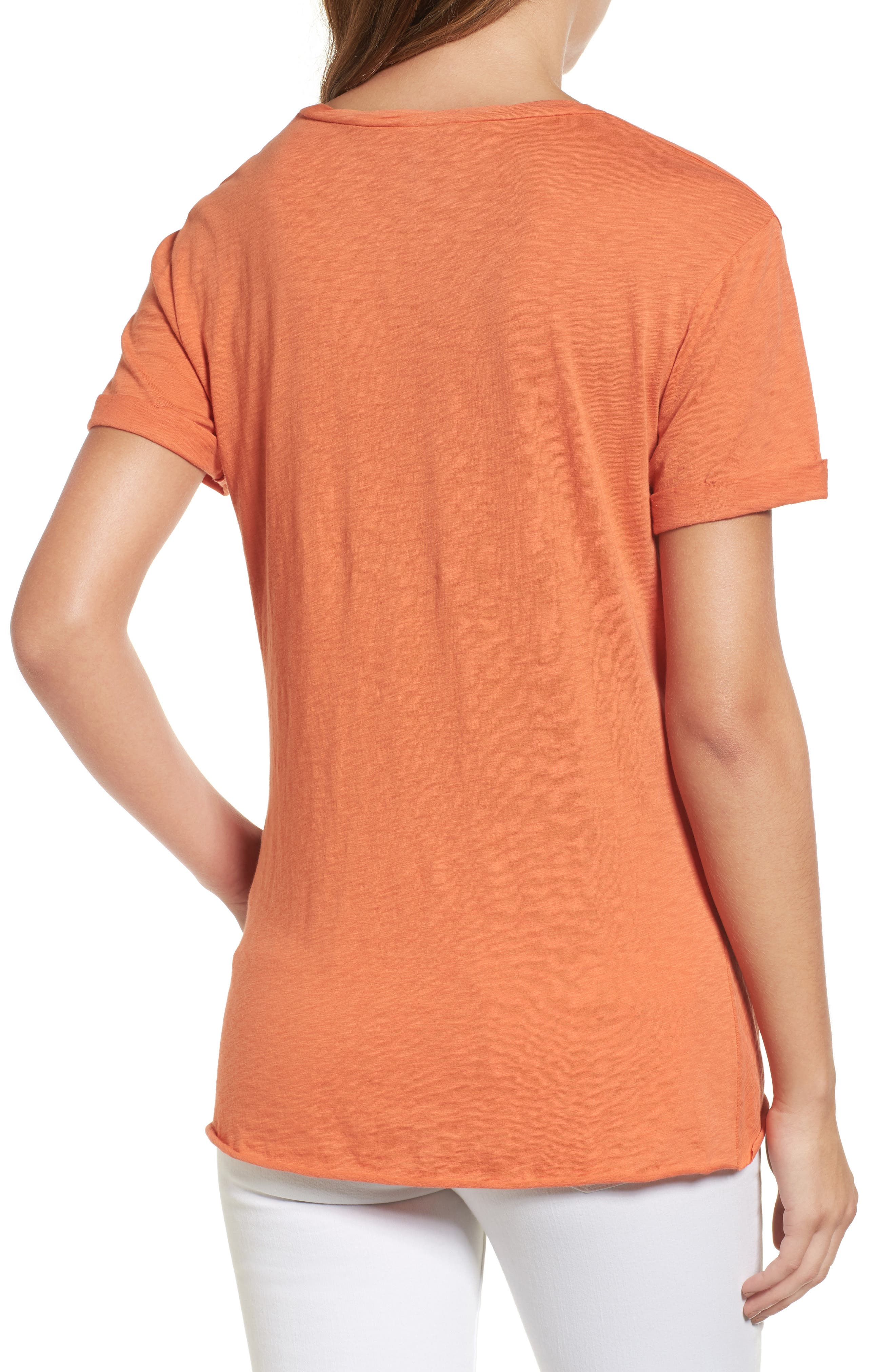 Knotted Tee,                             Alternate thumbnail 22, color,