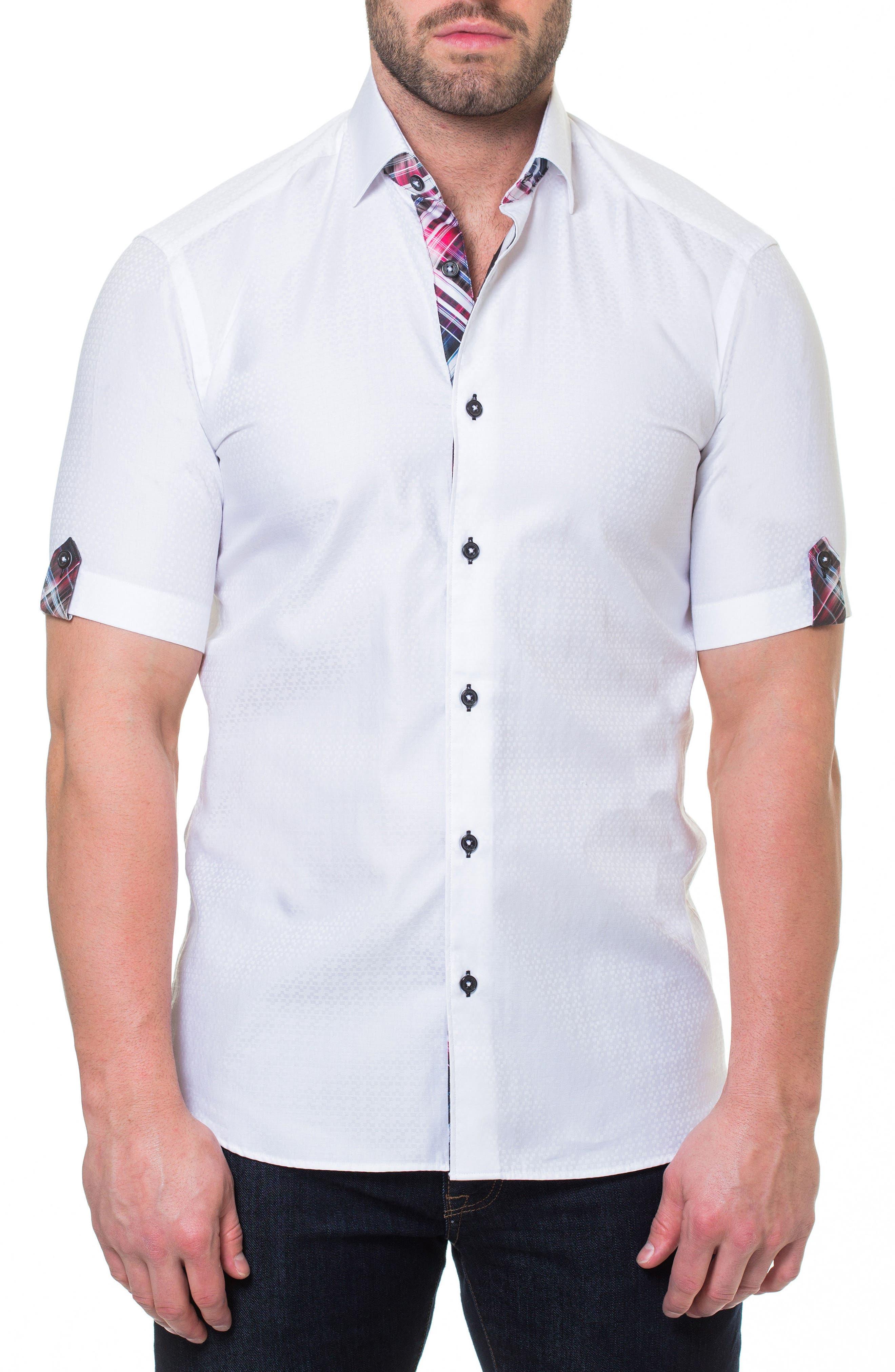 Fresh Block Sport Shirt,                         Main,                         color, 110